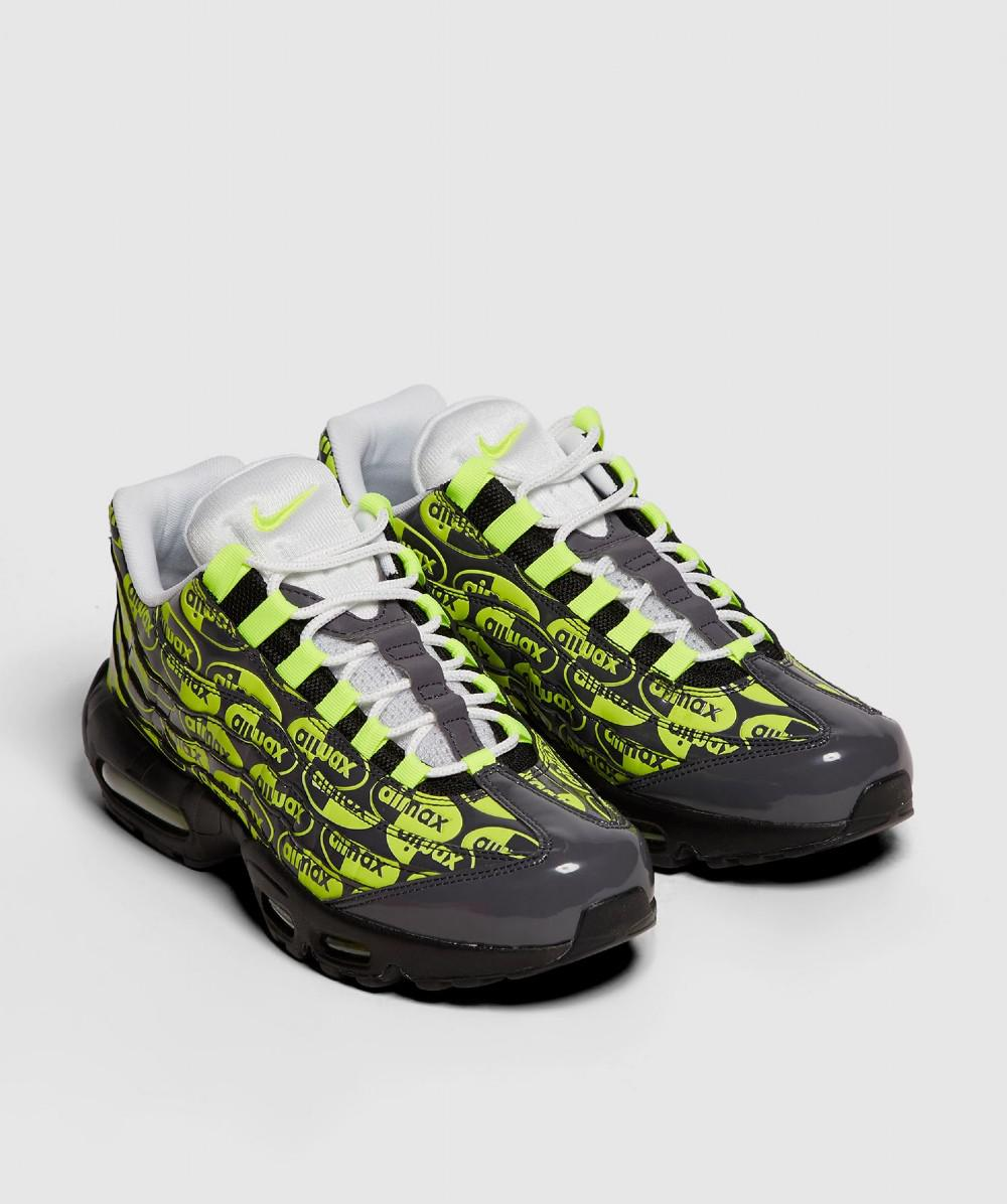 low priced fbff7 94ab7 ... uk availability 76fb3 2556a Lyst - Nike Air Max 95 Print Trainer for  Men ...