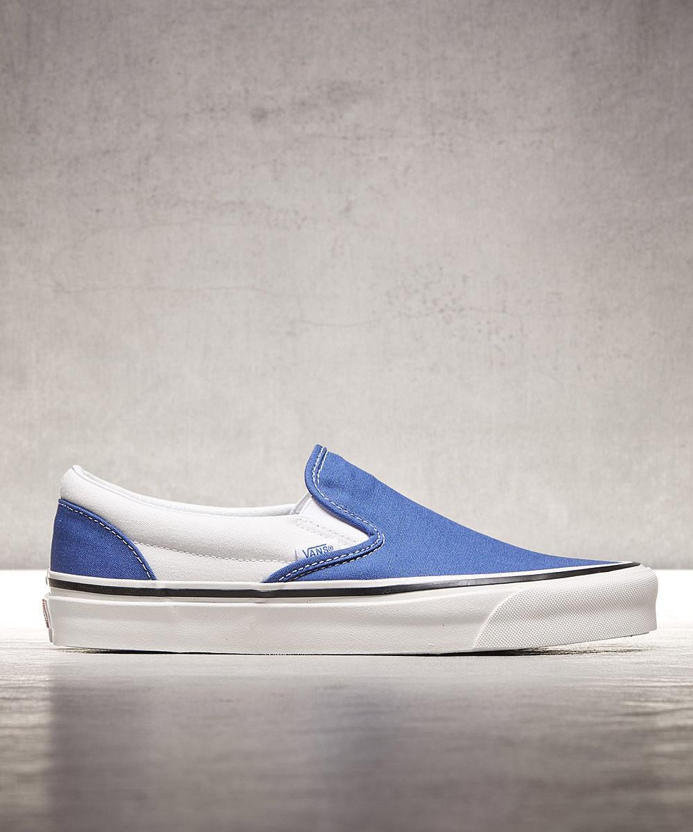 d619bf3401689d Lyst - Vans Anaheim Classic Slip-on 98 Trainer in Blue for Men