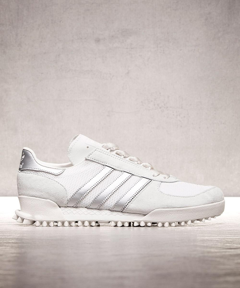 best service 1331d f871c Adidas Marathon Tr Trainer in White for Men - Lyst