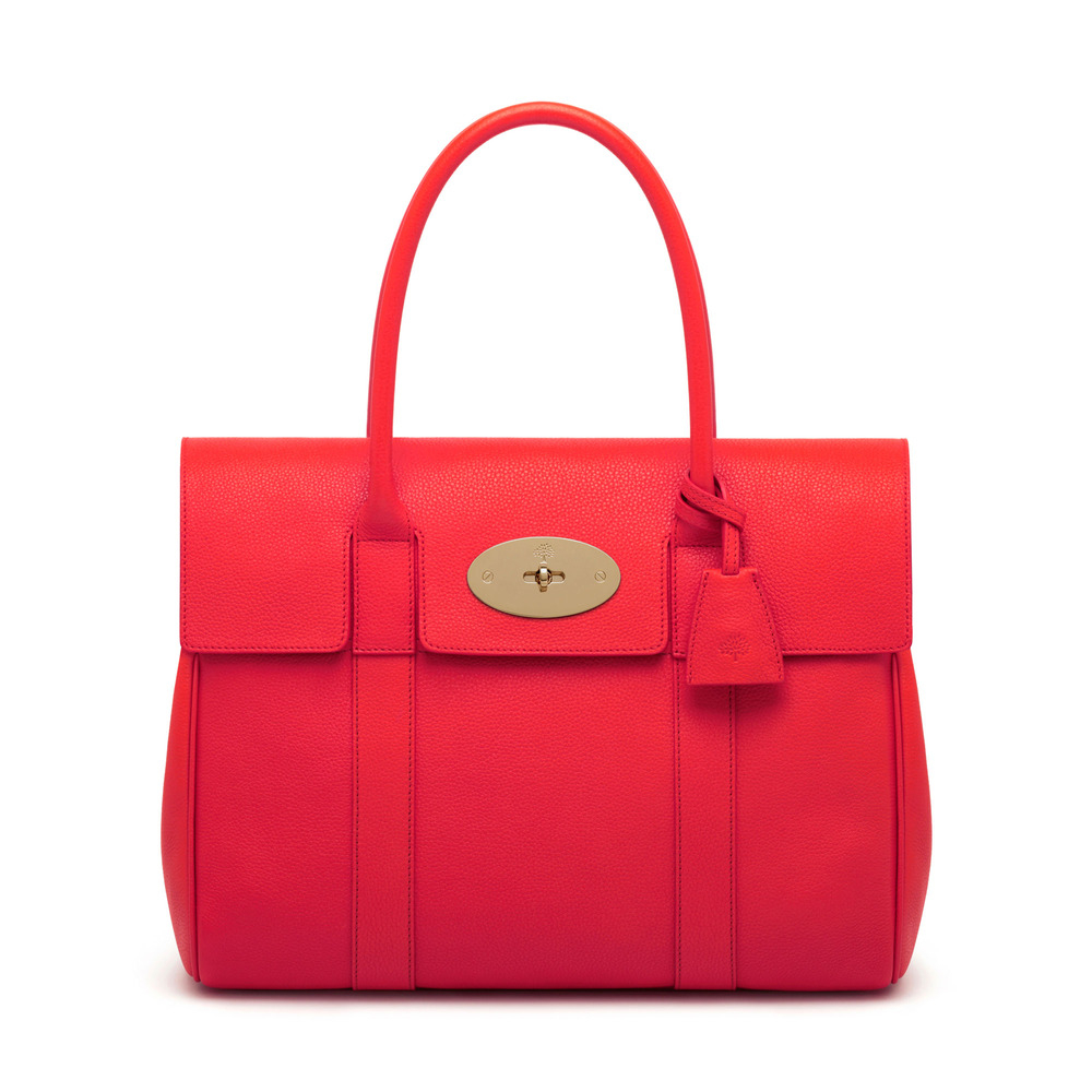 Mulberry bayswater in red lyst for The bayswater