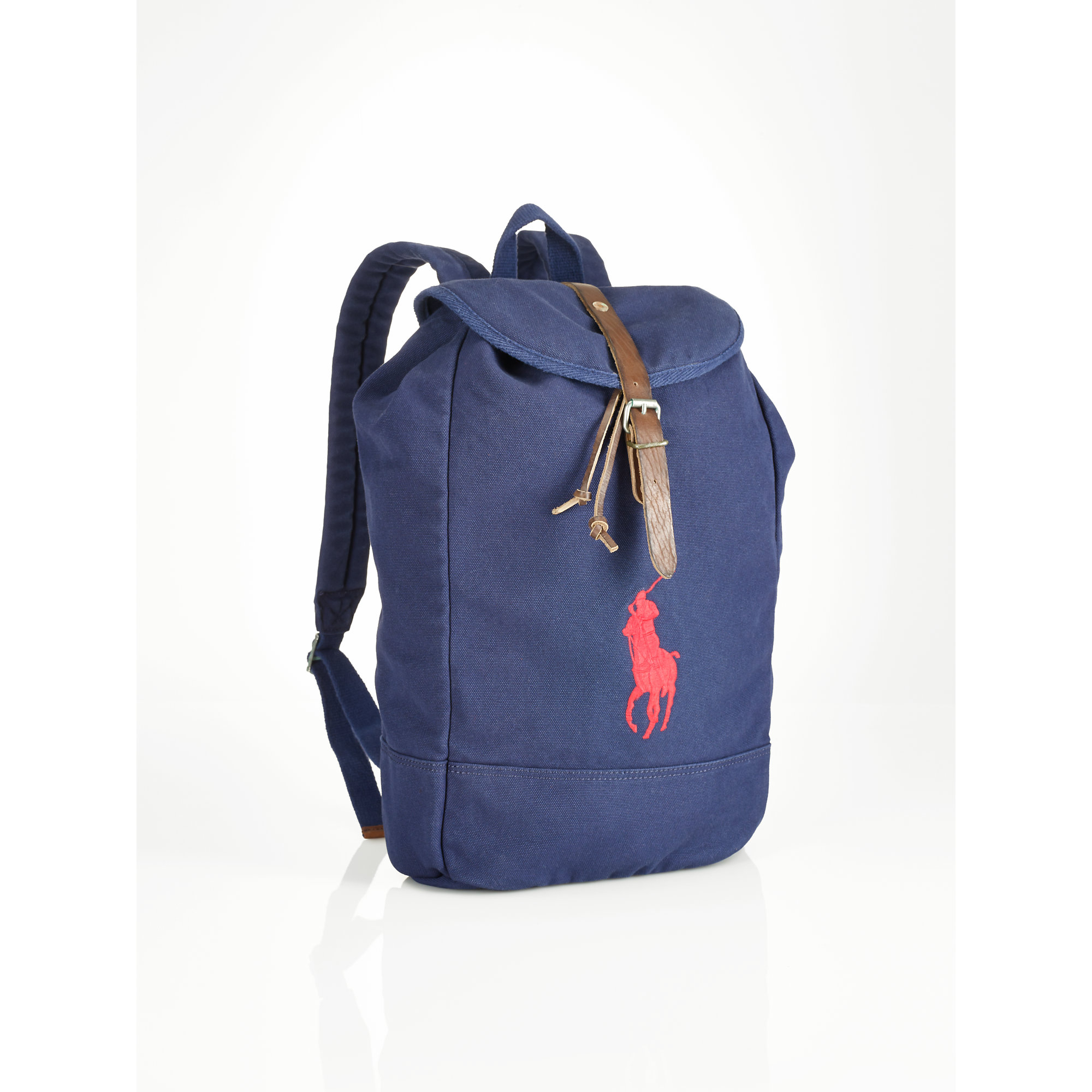 d51dc627d Polo Ralph Lauren Big Pony Backpack in Blue for Men - Lyst