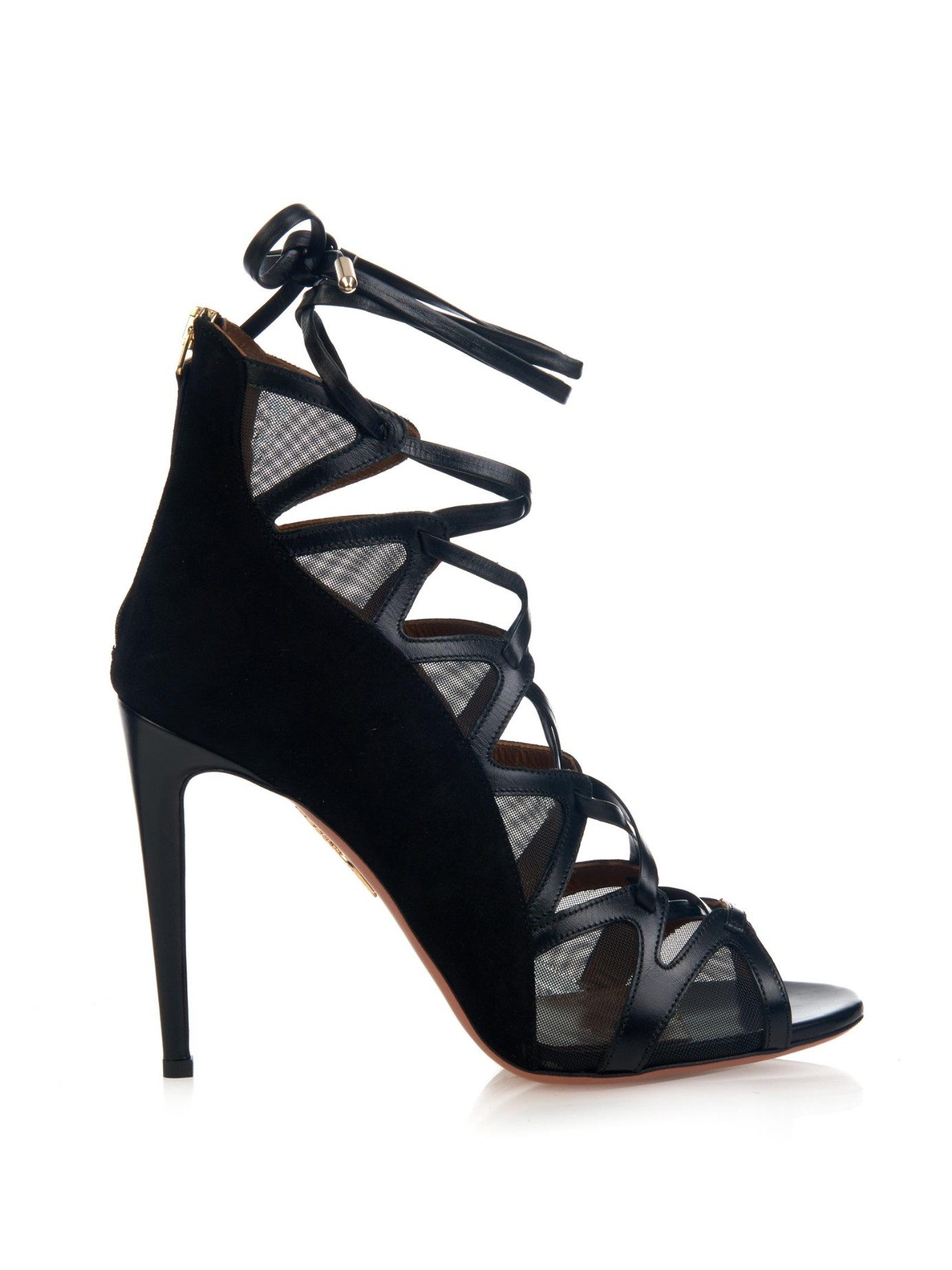 Lyst Aquazzura French Lover Sandals In Black