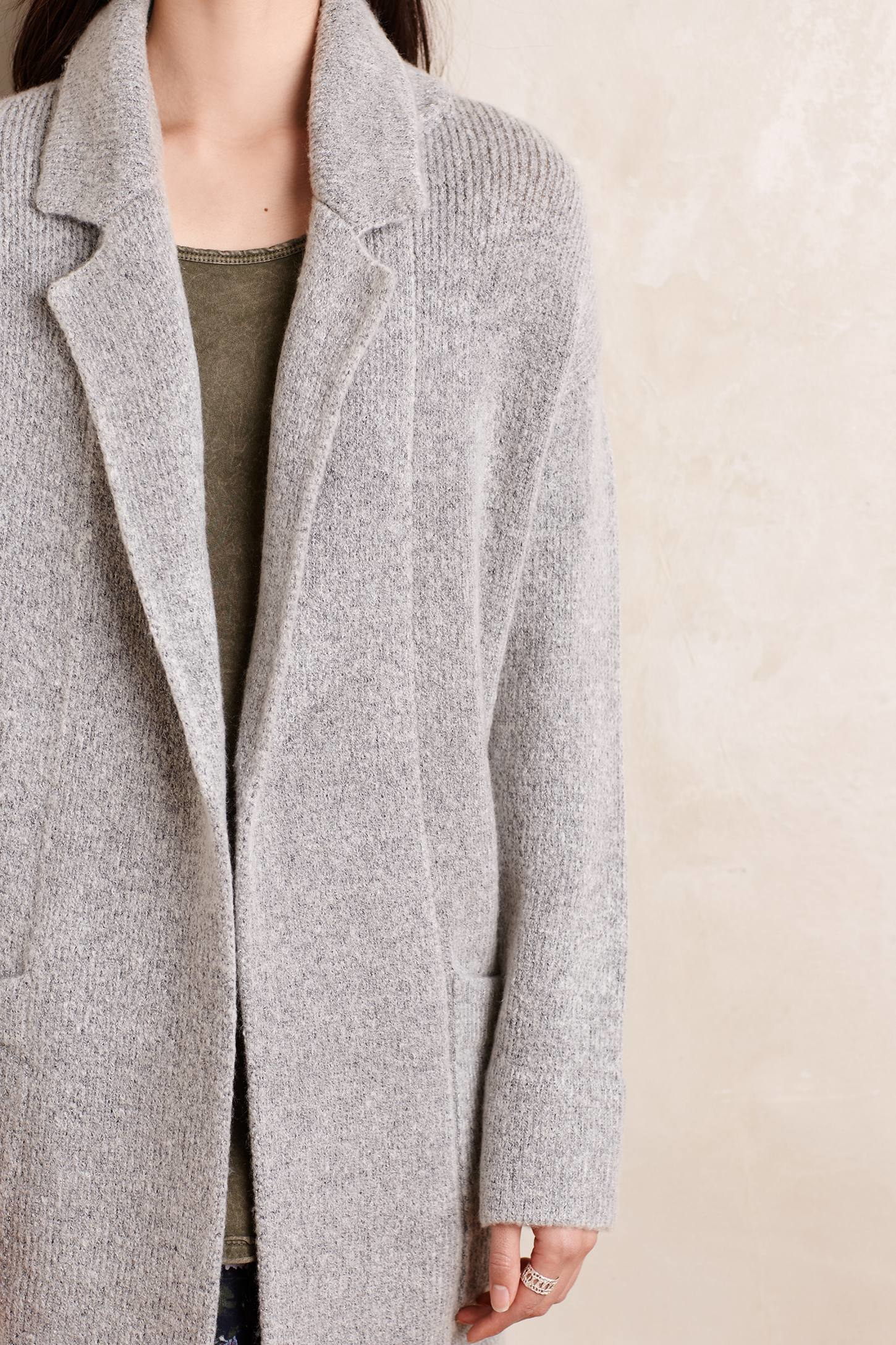 Sunday in brooklyn Derry Sweater Coat in Gray | Lyst