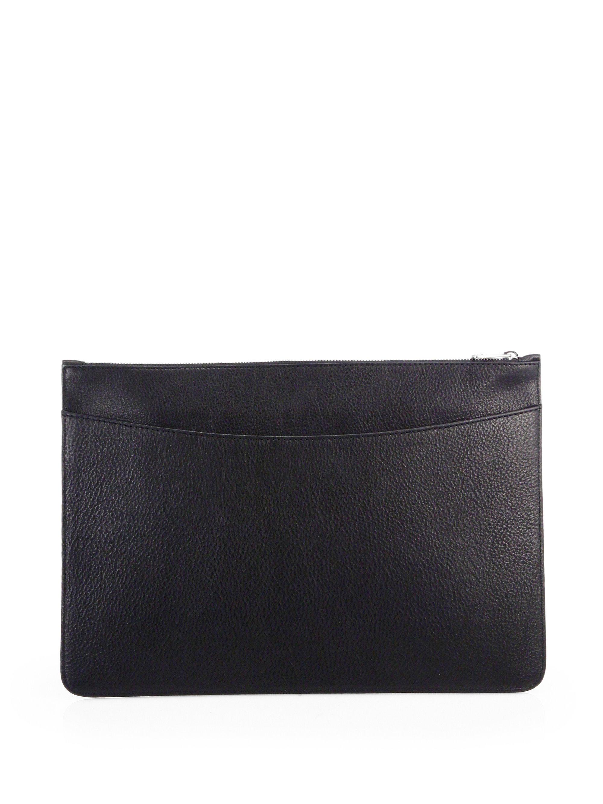 lyst a p c porte document holder in black for men