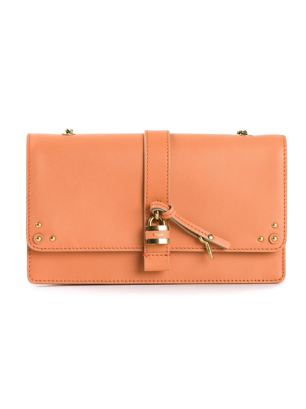 Chlo¨¦ \u0026#39;paddington\u0026#39; Crossbody Bag in Orange (yellow \u0026amp; orange) | Lyst