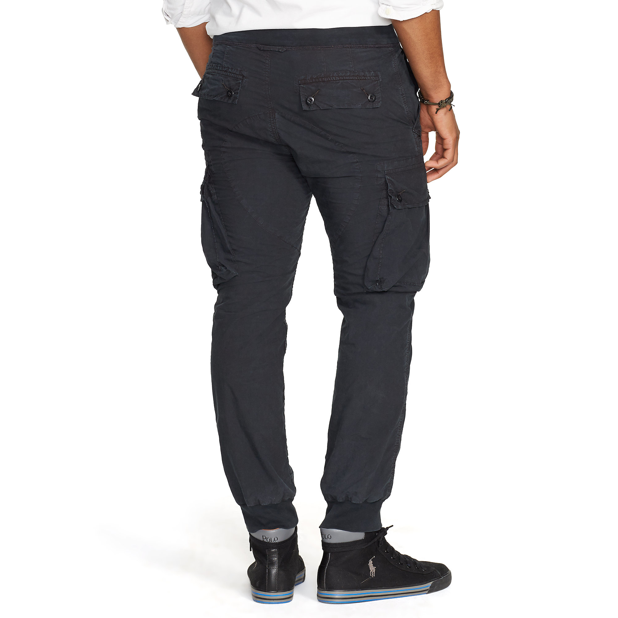 Polo ralph lauren Straight-fit Cotton Cargo Pant in Black for Men ...
