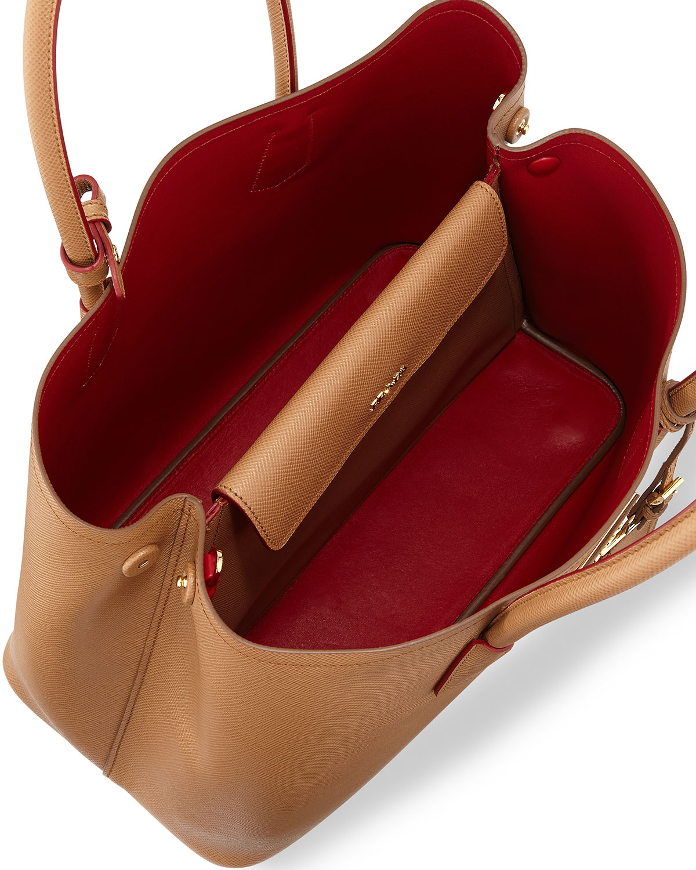 prada nylon shopper tote - prada saffiano front-pocket tote bag, prada womens handbags