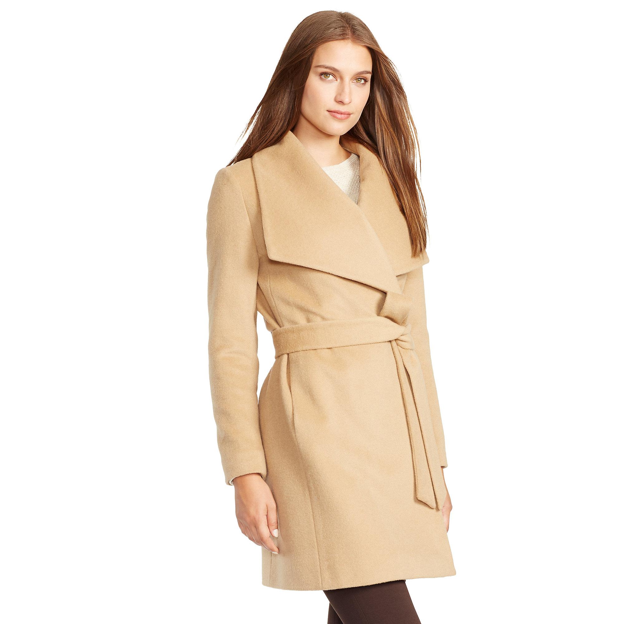 8973d3367084 Marein – ralph lauren draped wool blend coat