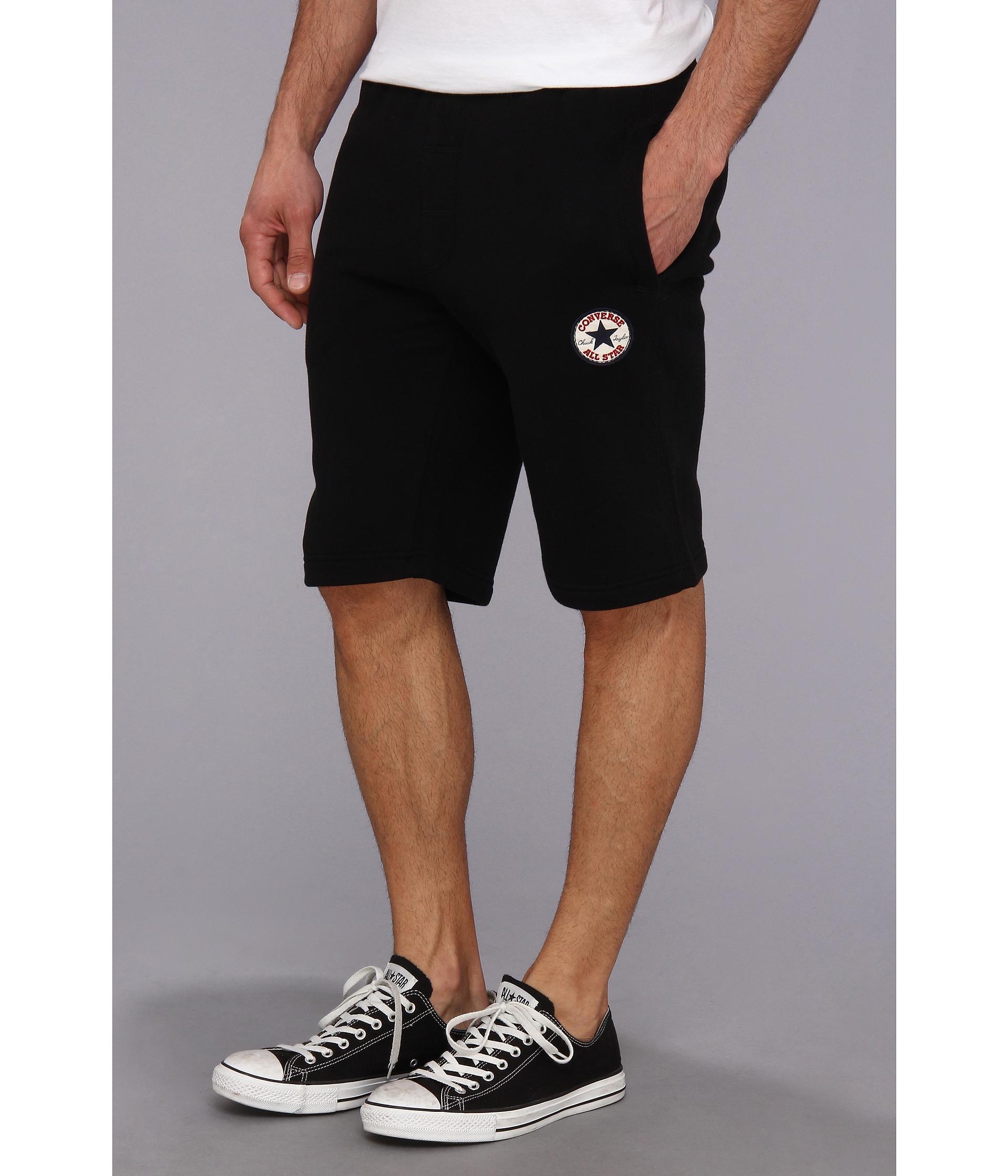 Converse Core Fleece Shorts  - Black