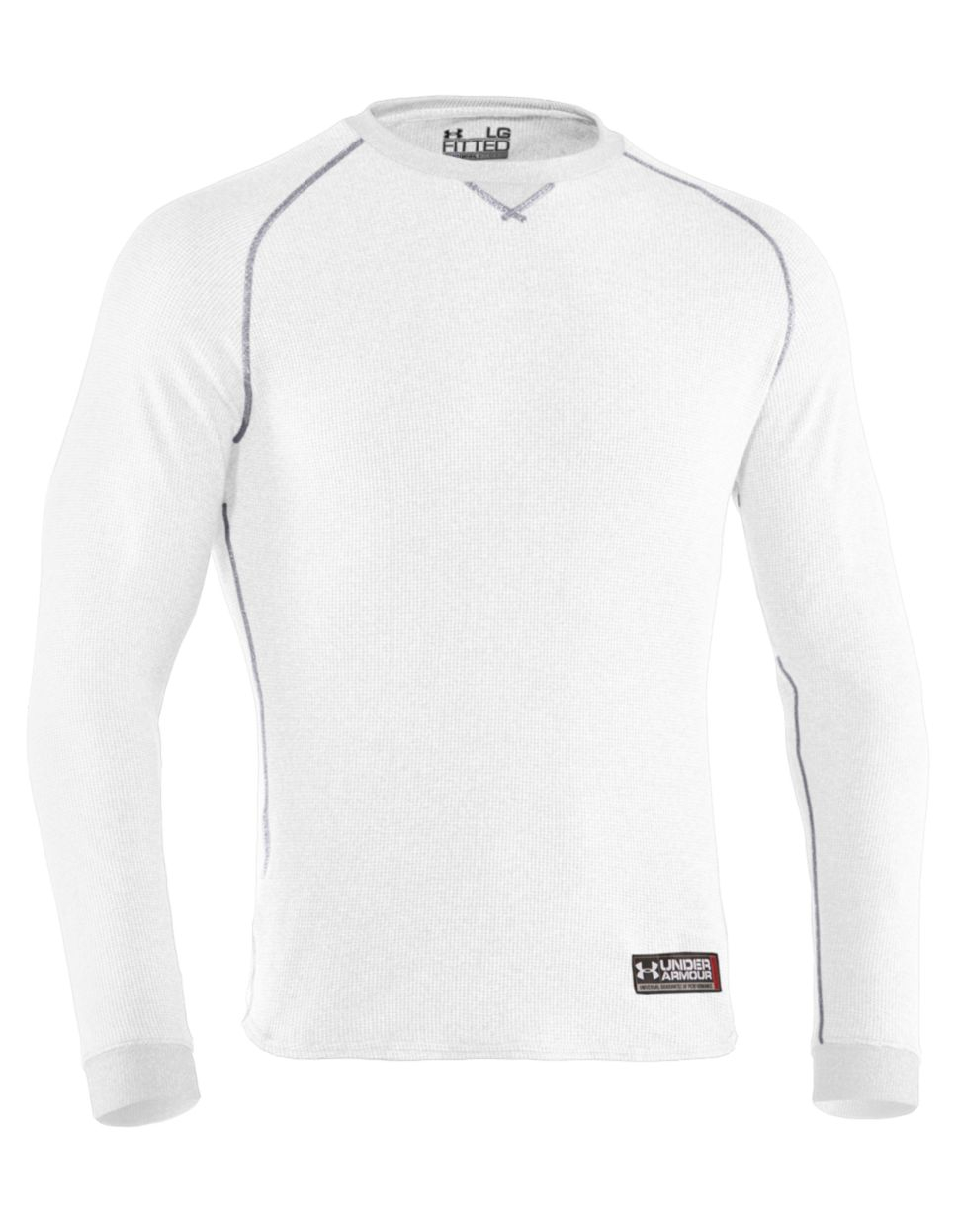 07ba892a8e5 Under Armour Thermal 20 Crew Shirt in White for Men - Lyst