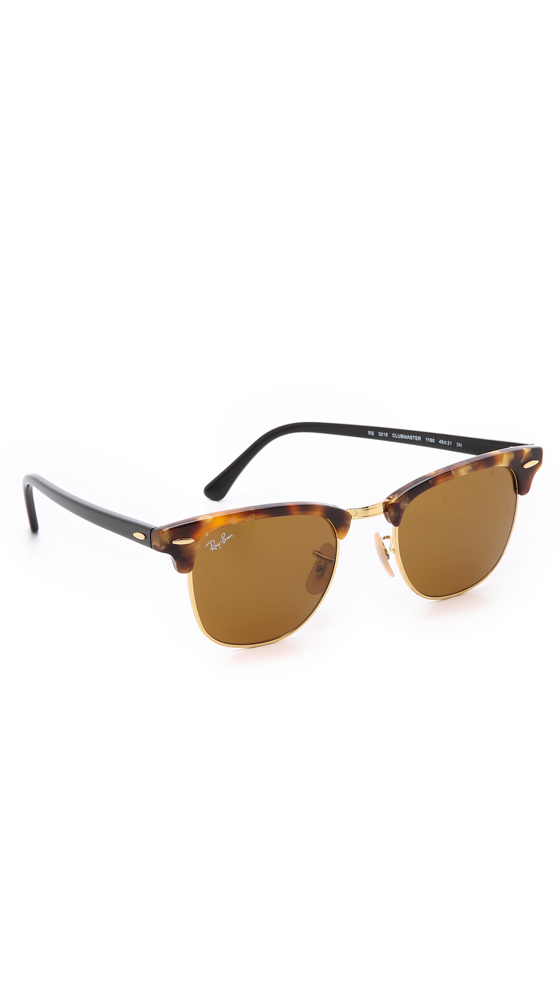 7c0530c3680 Clubmaster Brown Yellow « One More Soul