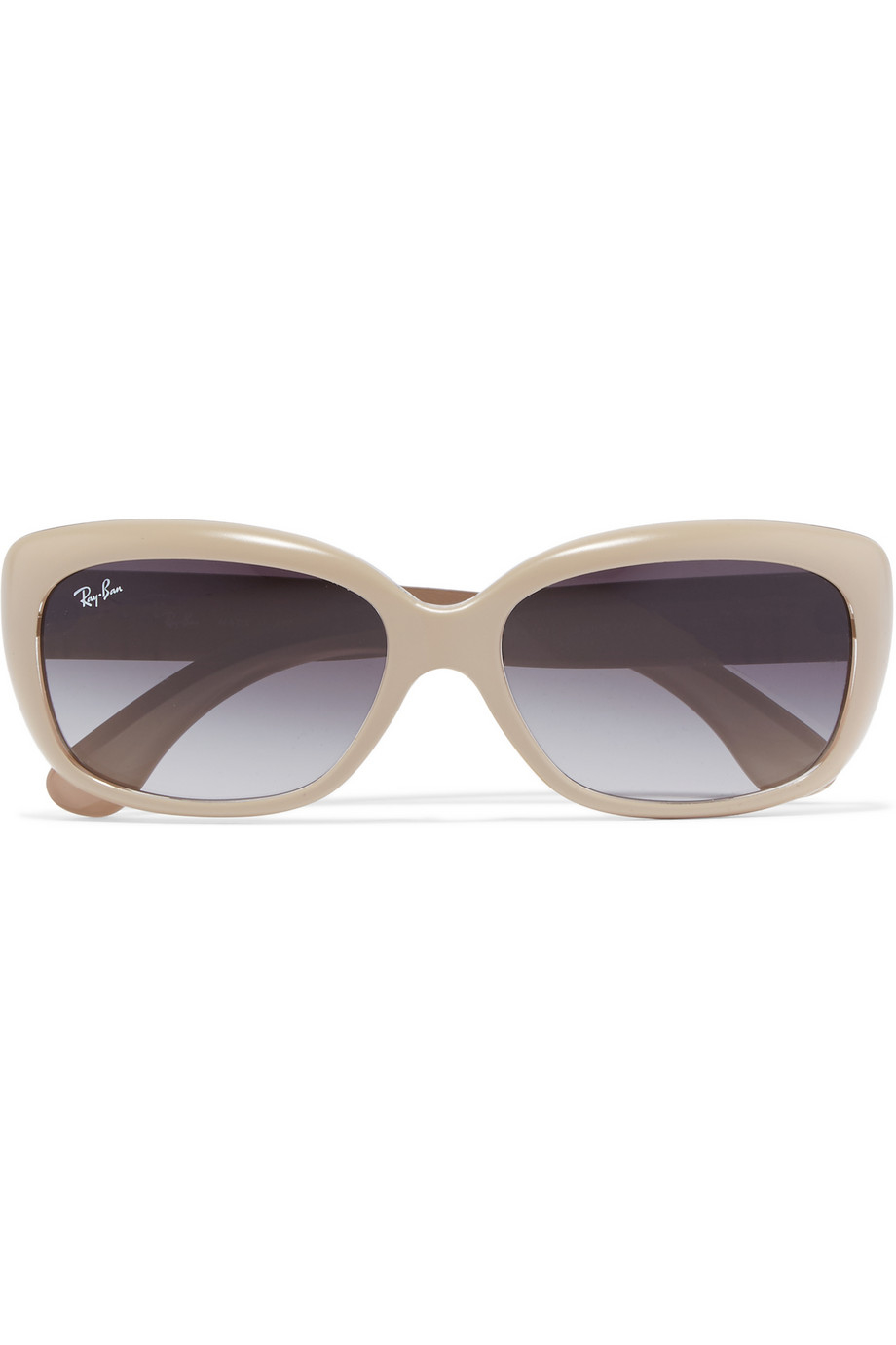 3d2862188215 ... where to buy ray ban square frame acetate sunglasses in natural lyst  edcc1 130d7