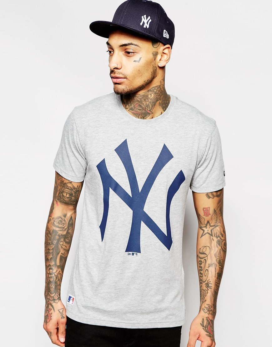 Lyst - KTZ Ny Yankees T-shirt in Blue for Men 3bf86e26c8c