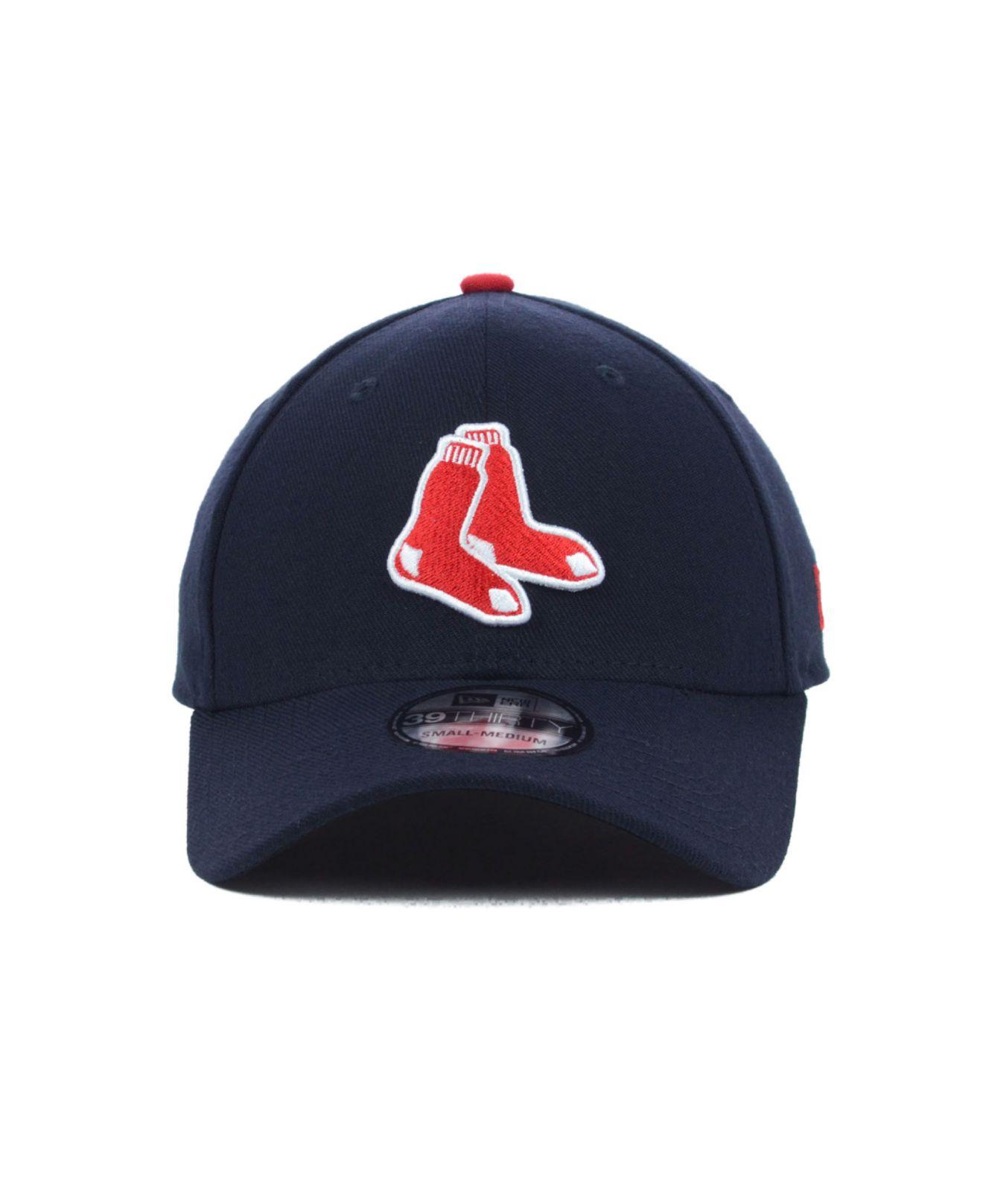 Lyst - KTZ Boston Red Sox Mlb Team Classic 39Thirty Cap in Blue for Men 8b673401abf