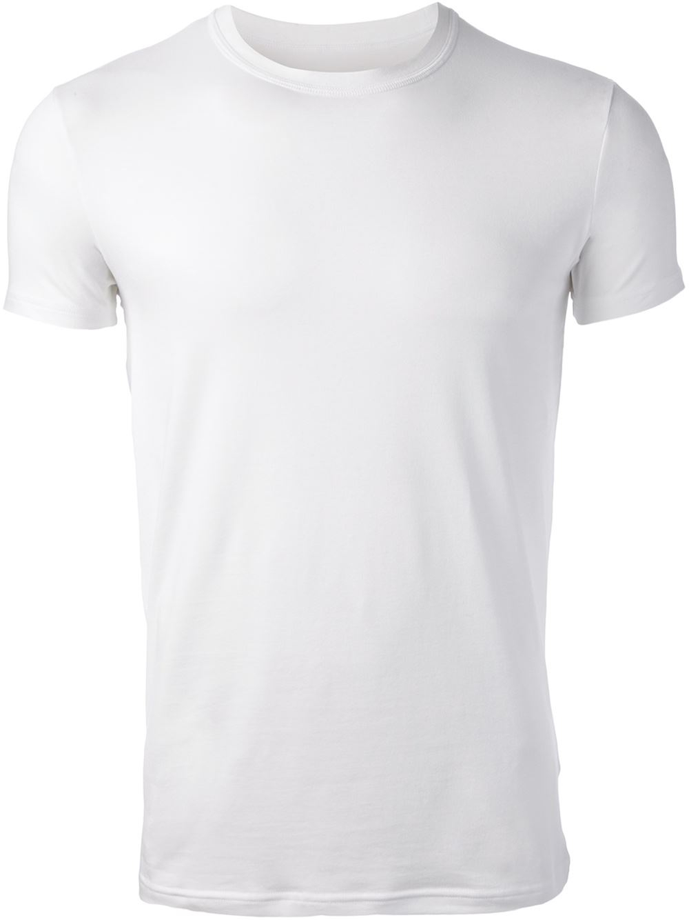 Dsquared crew neck t shirt in white for men lyst for Crew neck white t shirt