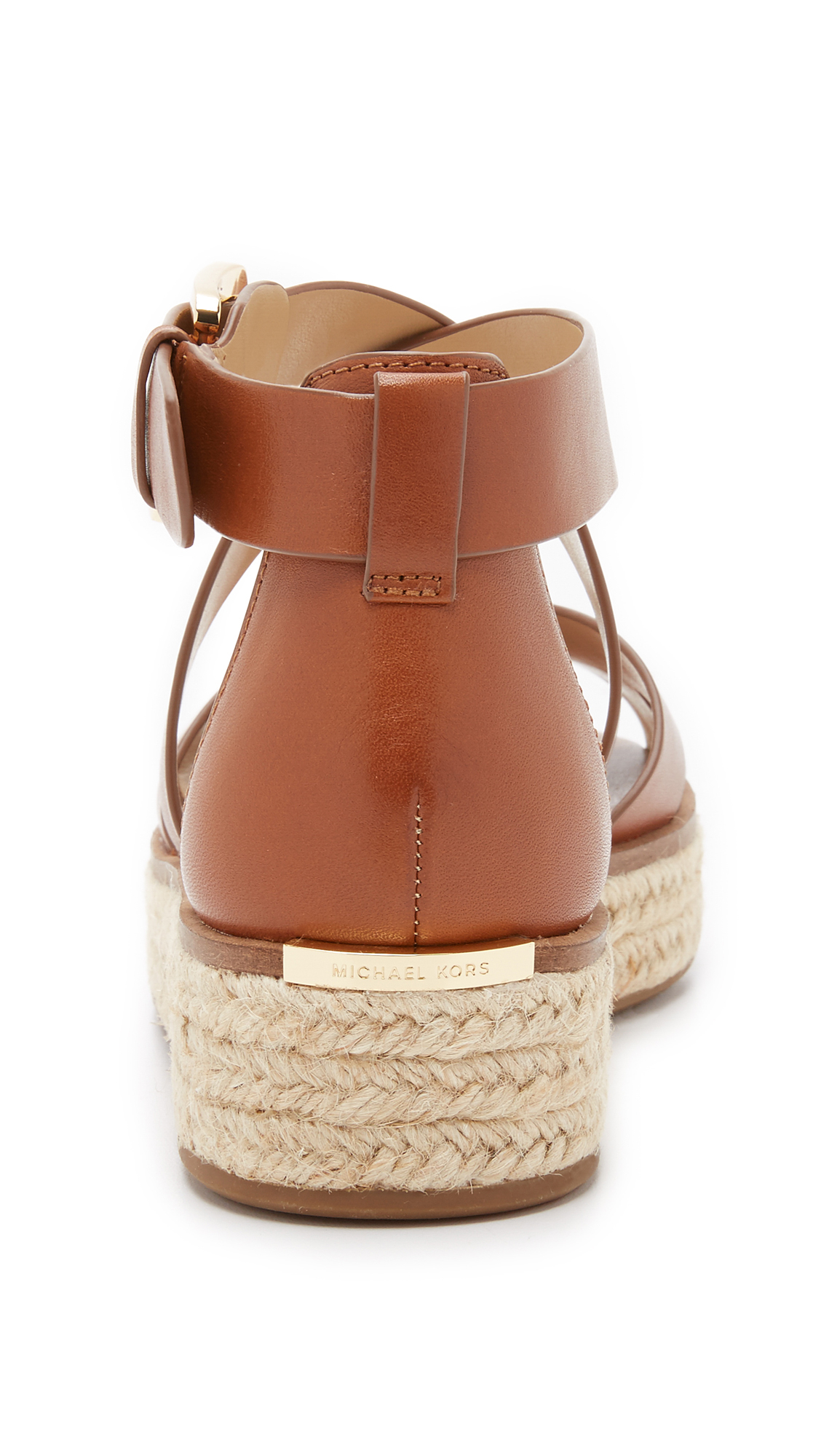 19547a43e68 Lyst - MICHAEL Michael Kors Darby Sandals in Brown