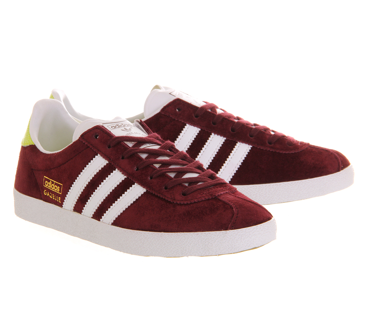 adidas gazelle og w in purple maroon lyst. Black Bedroom Furniture Sets. Home Design Ideas