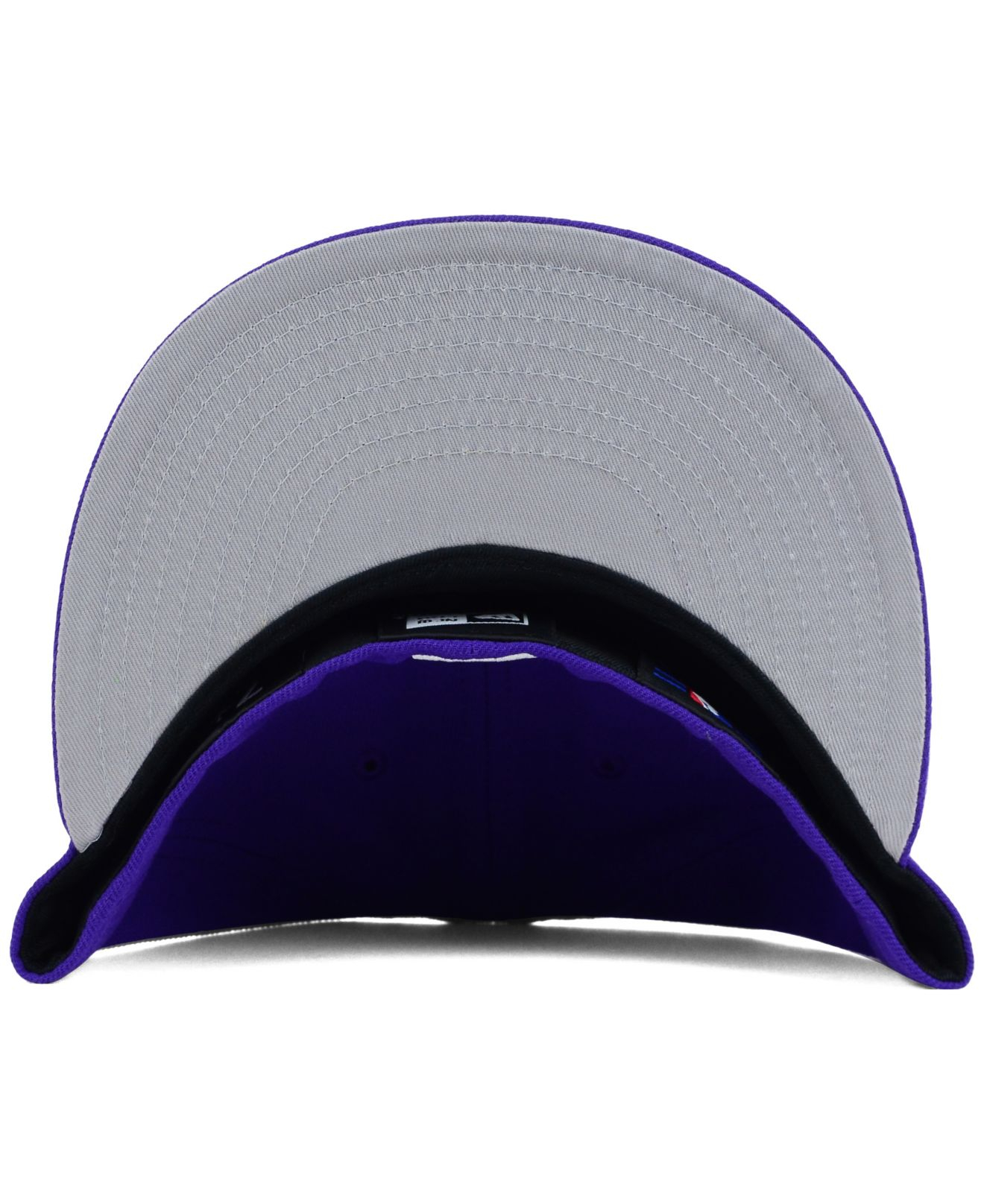 wholesale dealer 6f1ea f3336 ... cheapest ktz chicago white sox c dub 59fifty cap in purple for men lyst  1eaea 2eb64