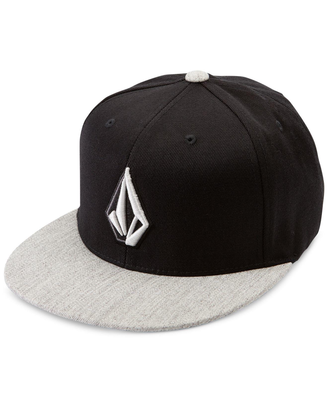 08d7f3f04a8 Lyst - Volcom Stone Slab Flat Brim Hat in Gray for Men