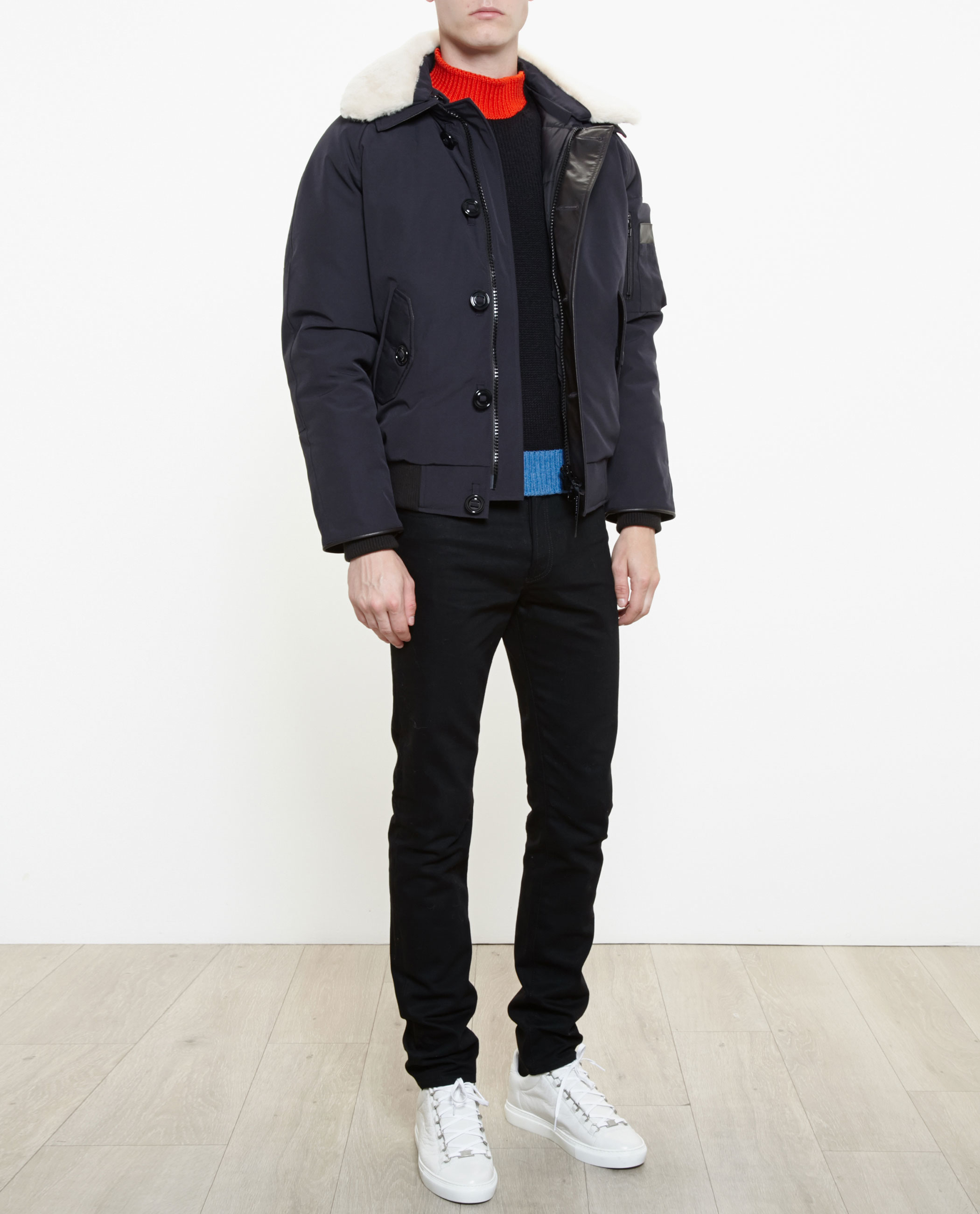 Canada Goose jackets sale cheap - Canada goose Foxe Bomber in Blue for Men (NAVY) | Lyst