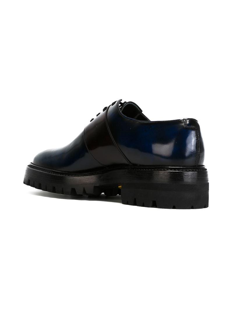 chunky derby shoes - Black Yang Li sRPQu