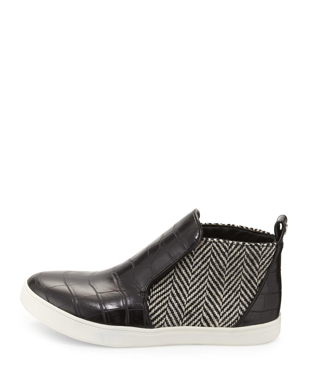 9c844d0c75ae Lyst - Circus by Sam Edelman Jadyn Croc-embossed High-top Sneaker in ...