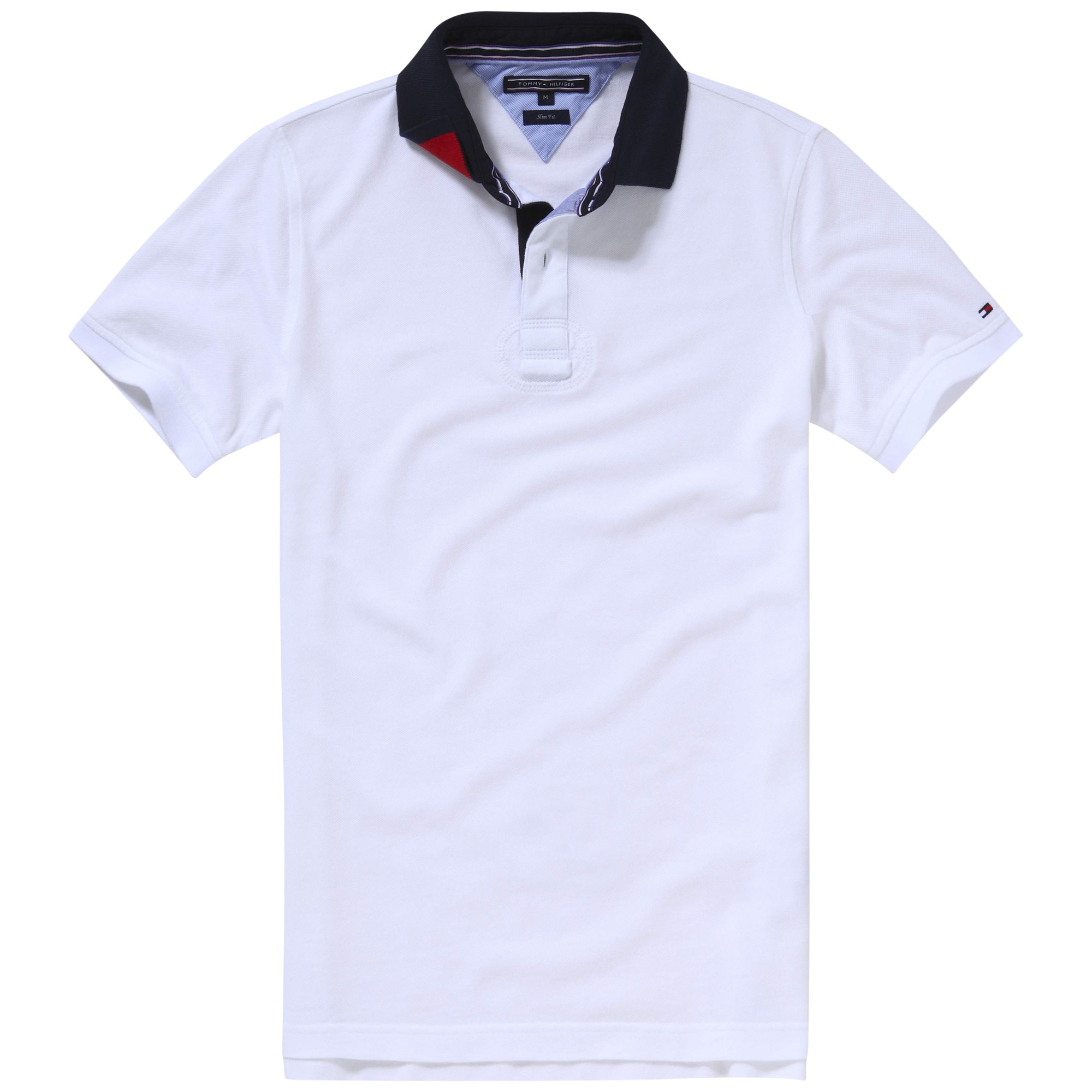 75e37590 Tommy Hilfiger Terence Polo Shirt in White for Men - Lyst