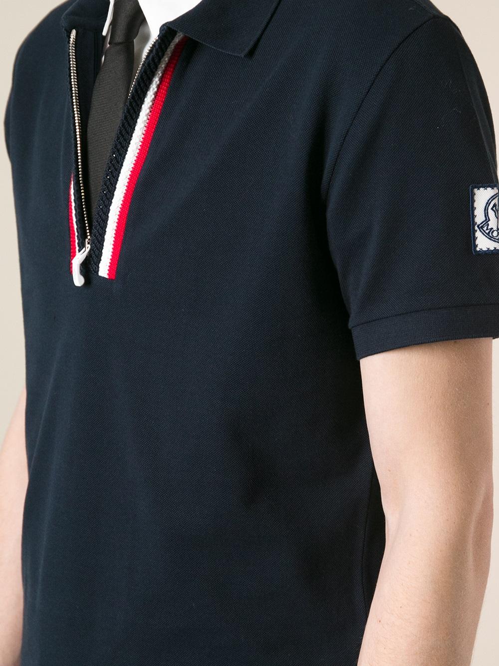 Moncler Zip Polo