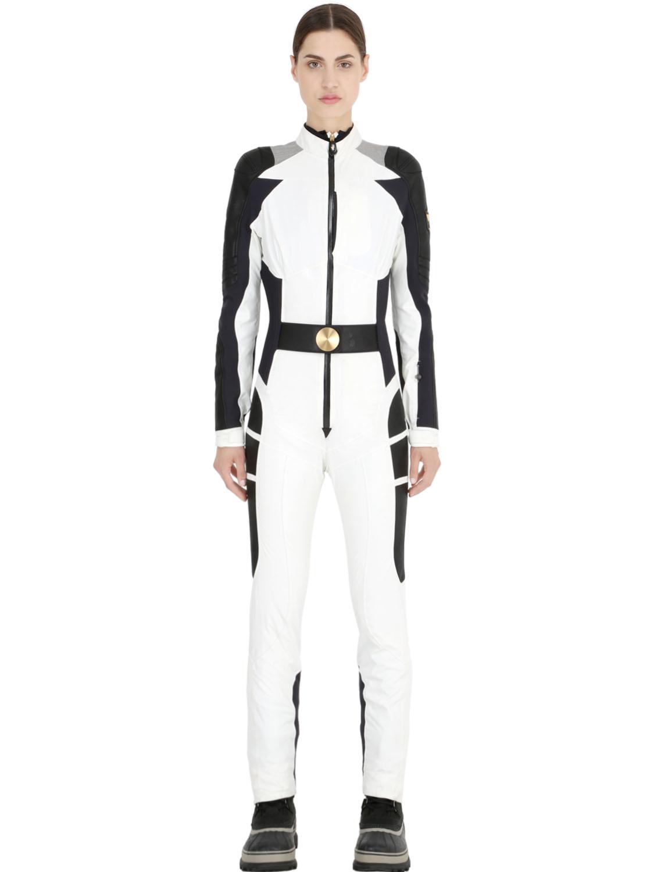 Dainese multisport Amaltea Primaloft & Leather Ski Suit in ...