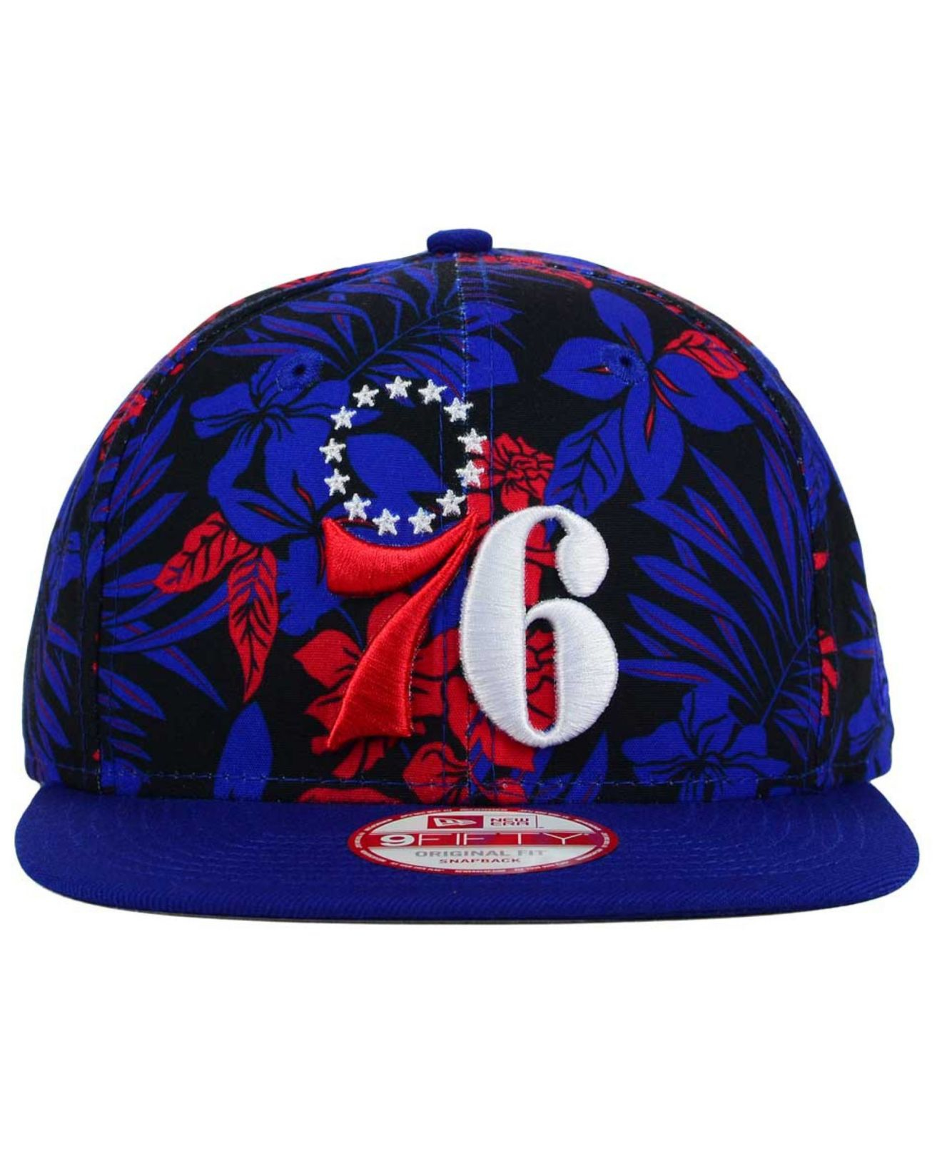 low priced 80b84 67ec8 inexpensive pretty cool 5d4b3 6729e lyst ktz philadelphia 76ers wowie 9fifty  snapback cap in b f7e2a