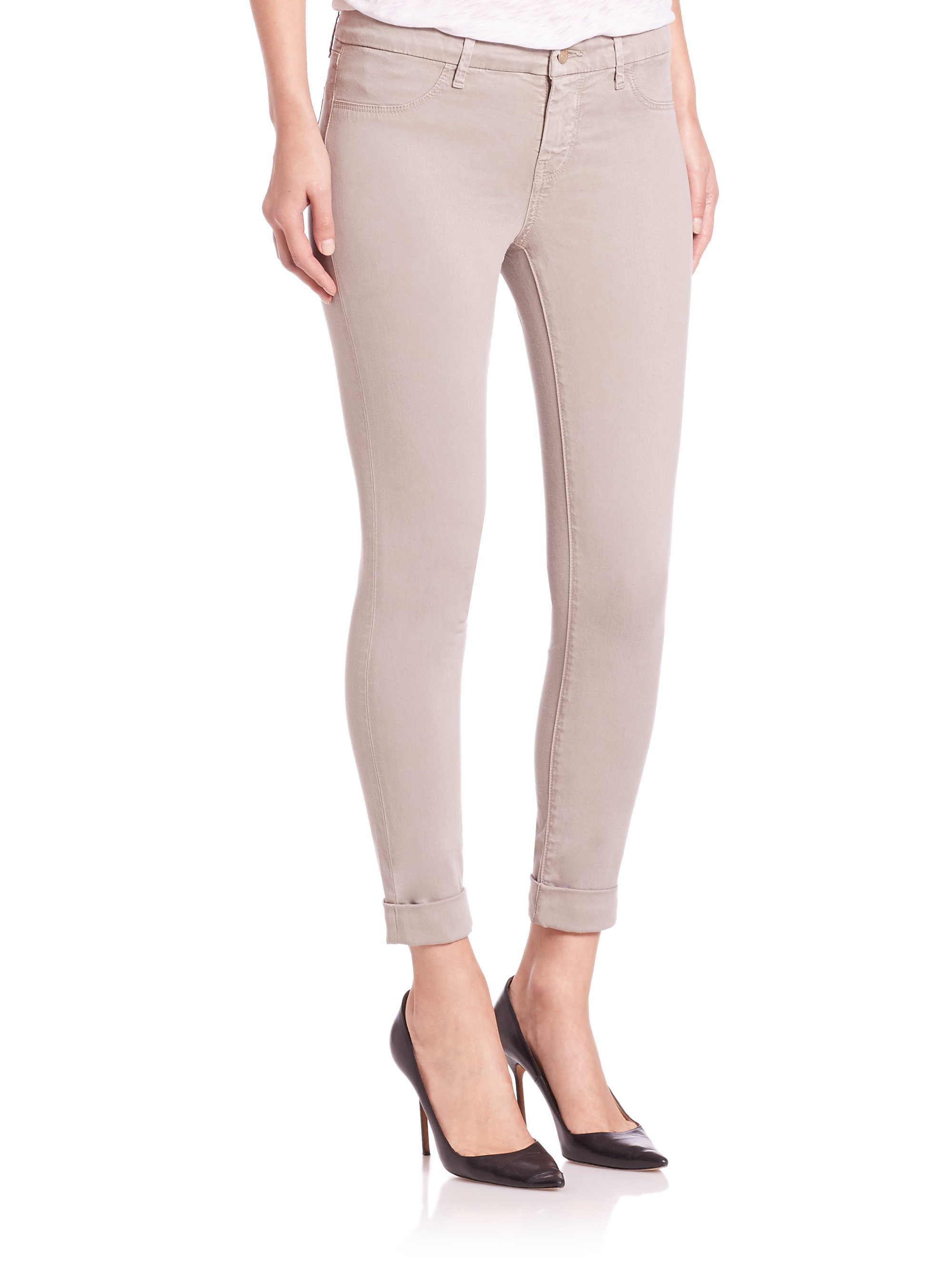 J Brand Anja mid rise trousers Cheap New Arrival 9XtImv