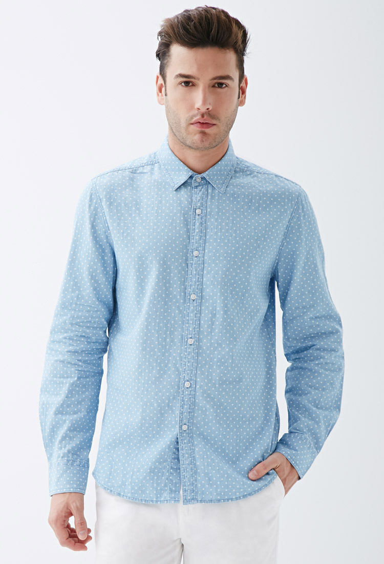 Frank + Oak Carlsbad Brushed Chambray Shirt
