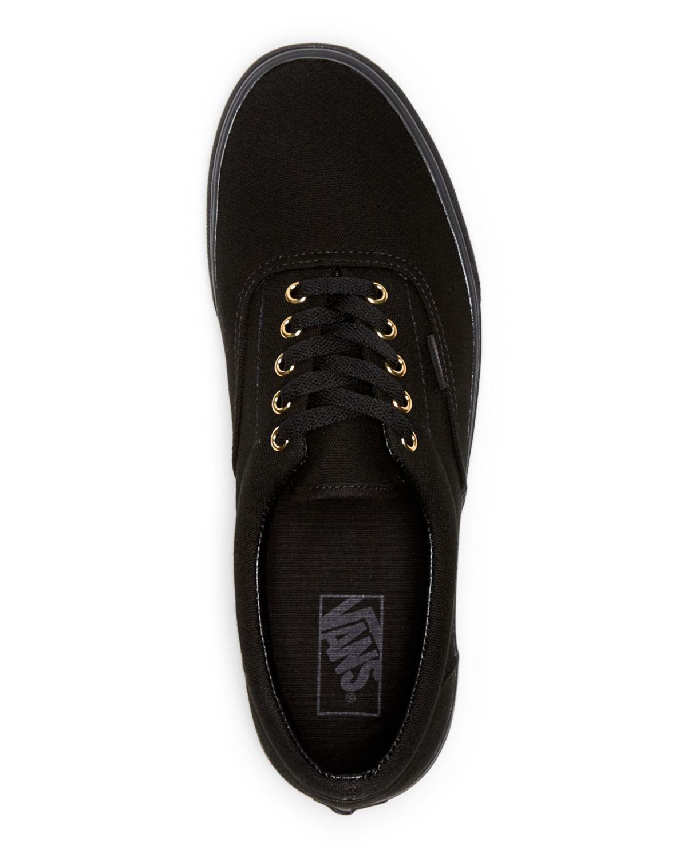 gold mono black vans