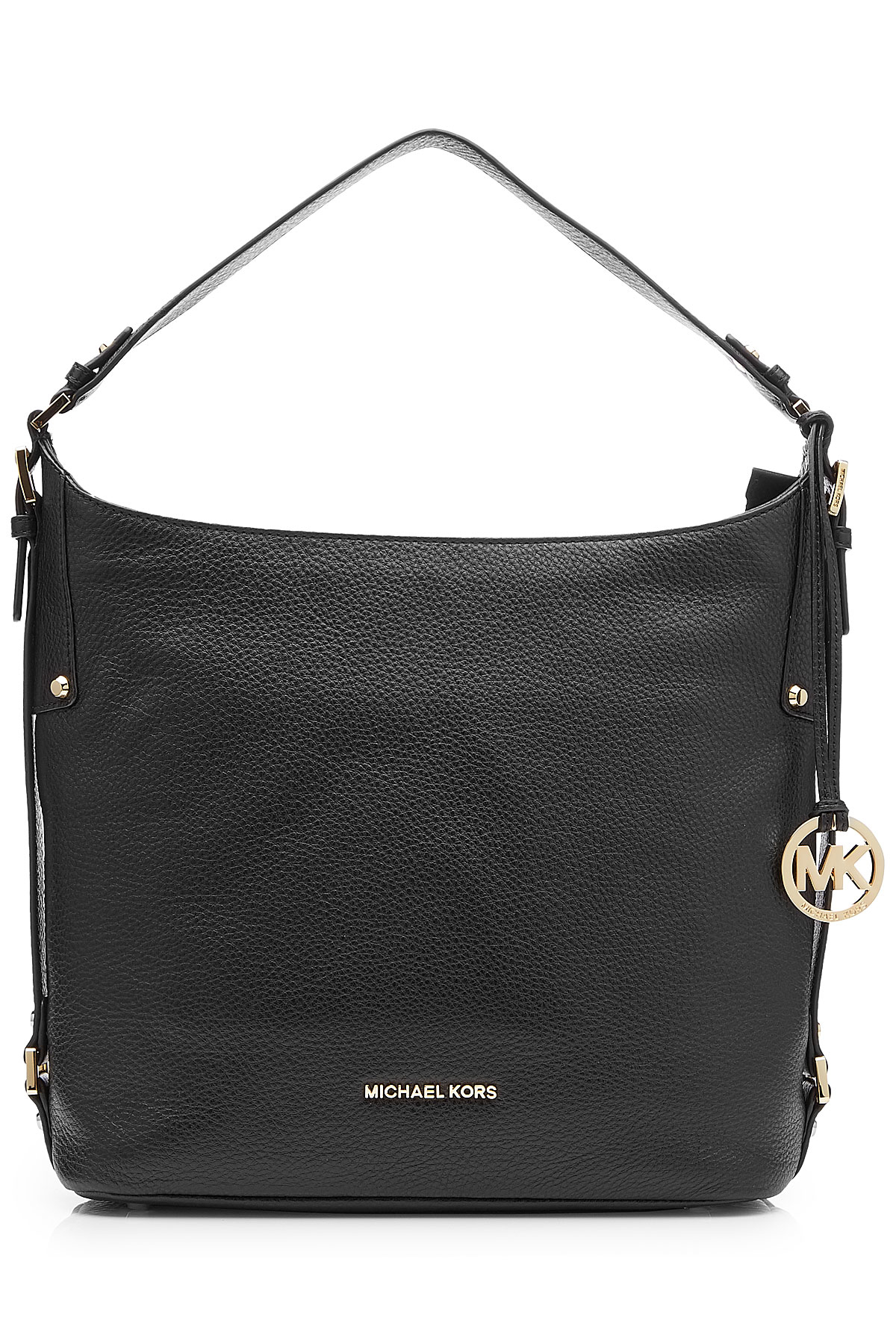 aee3722bf66aa6 MICHAEL Michael Kors Bedford Large Leather Shoulder Bag - Black in ...