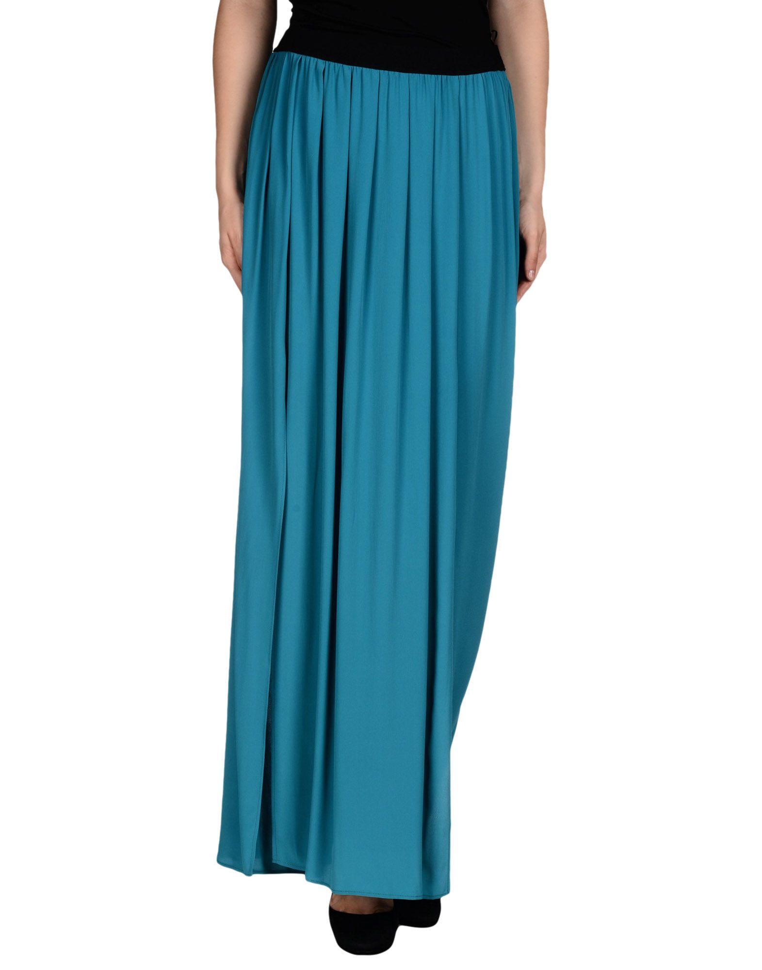 pinko skirt in blue lyst