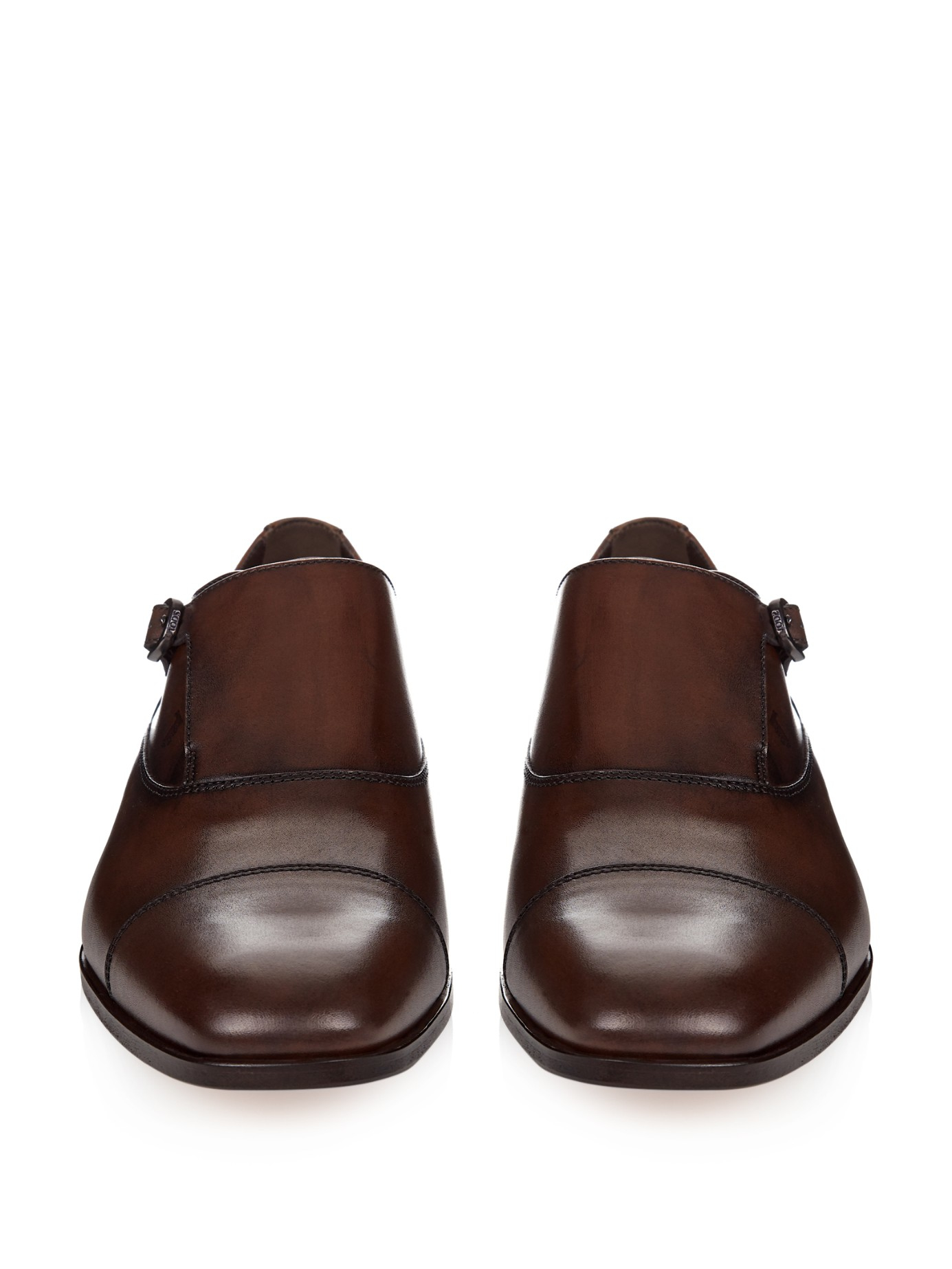 Monk Strap Shoes in Suede Tod's 3SHG9