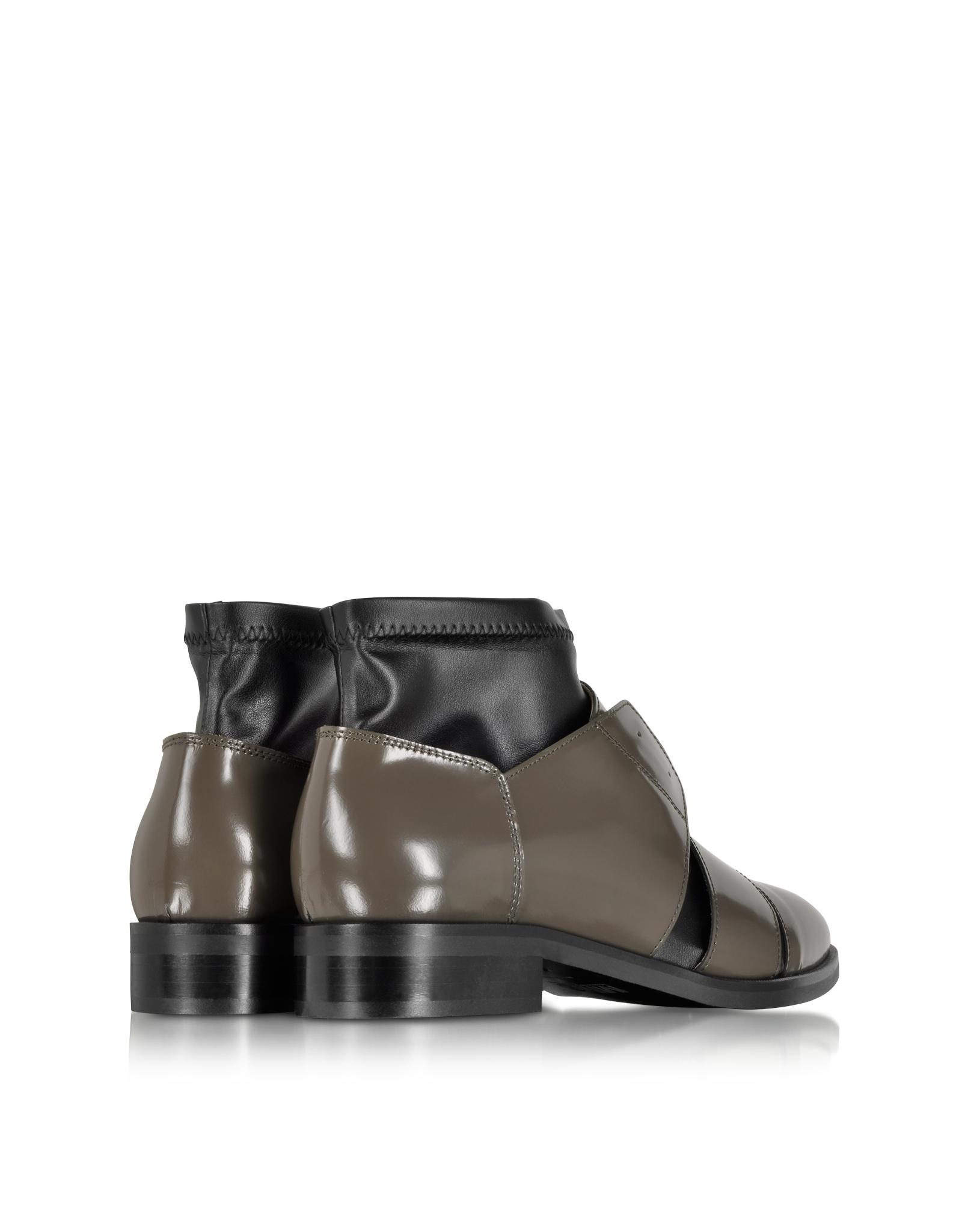 MM6 Maison Martin Margiela Black Cut-Out Boots