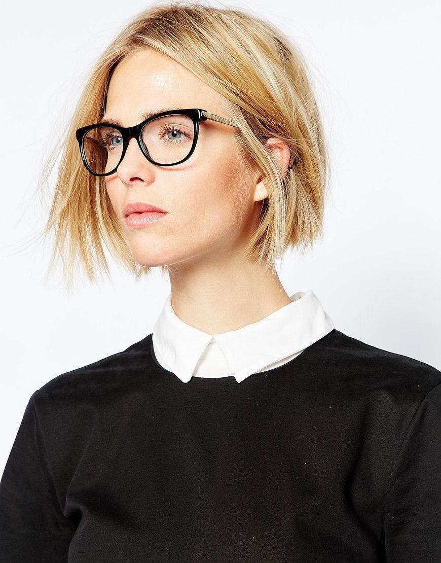 Dolce & gabbana D Frame Glasses in Black Lyst