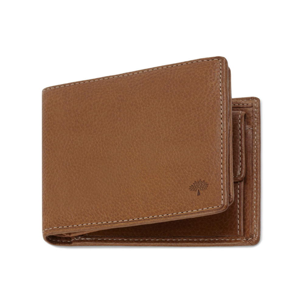 32acf008ed ... greece lyst mulberry 8 card coin wallet in brown for men 4f096 3aac1