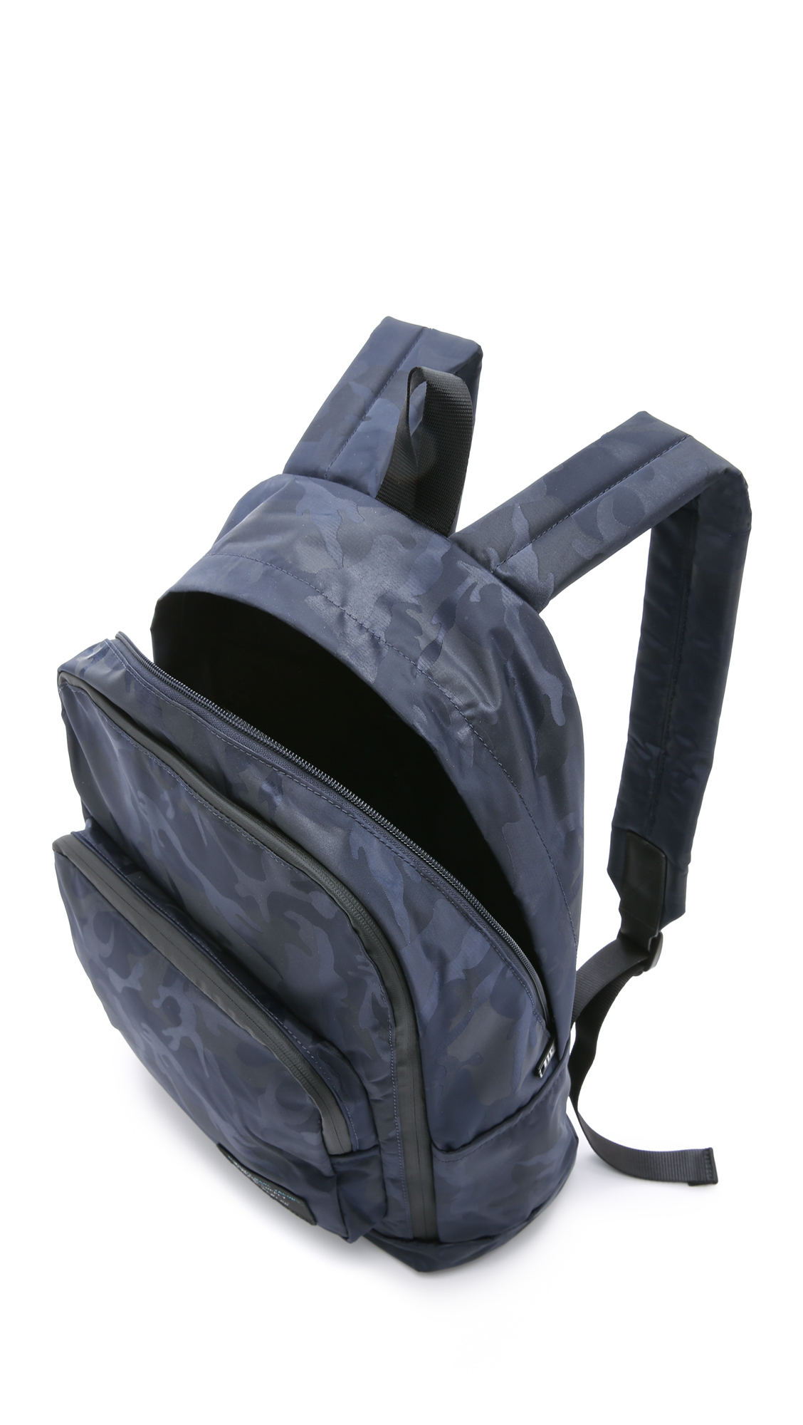 lyst marc by marc jacobs ultimate camo backpack in blue. Black Bedroom Furniture Sets. Home Design Ideas