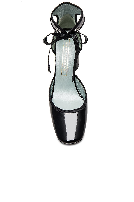Lyst Marc Jacobs Elle Ankle Tap Pump In Black