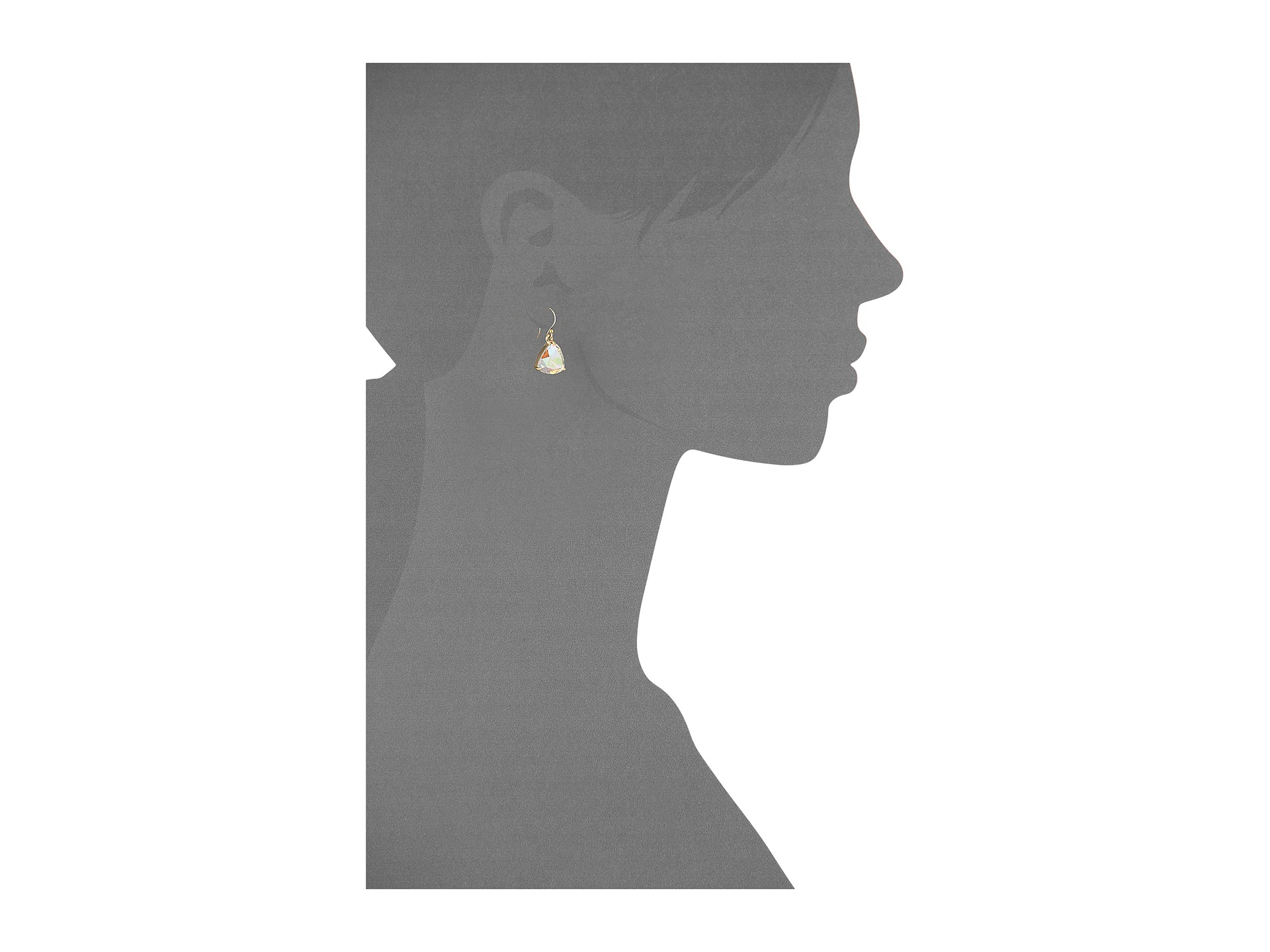 Lyst - Kate Spade New York Twinkle Lights French Wire Earrings in ...