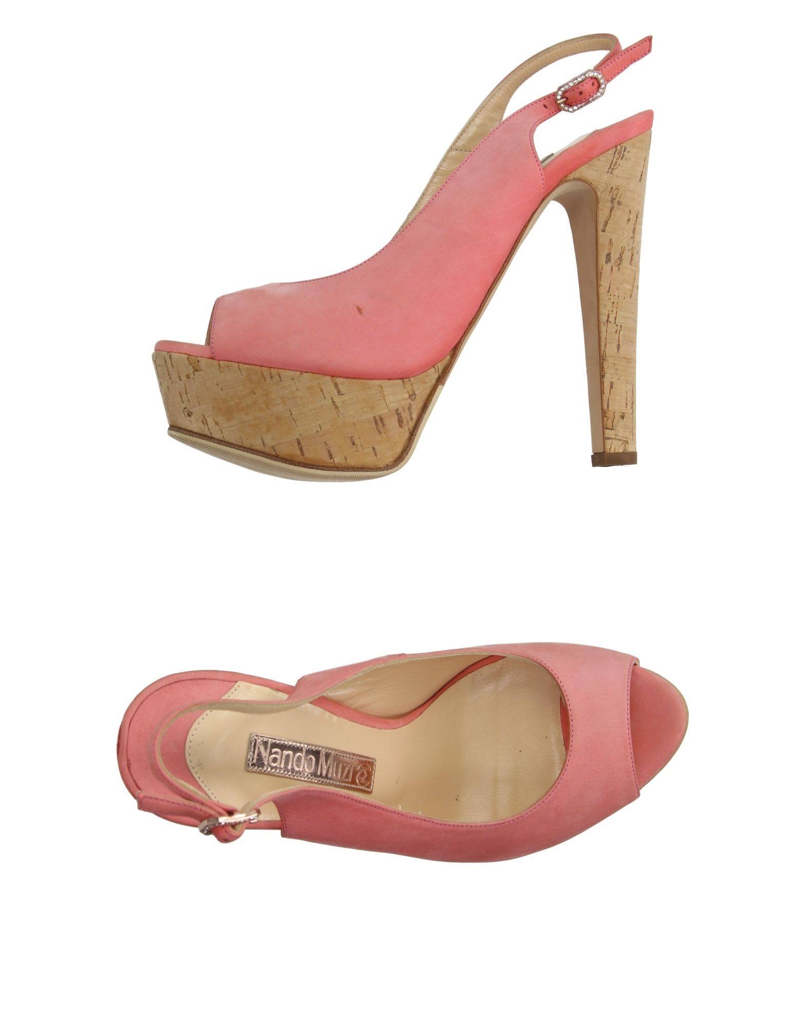 Salmon Pink Heels