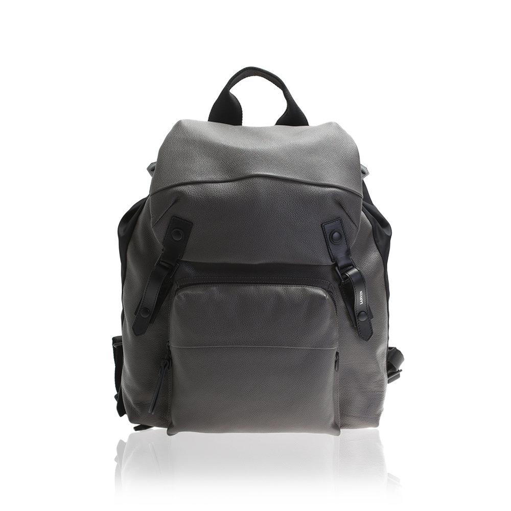 37a7d0e7ddf3 Dark Gray Leather Backpack- Fenix Toulouse Handball
