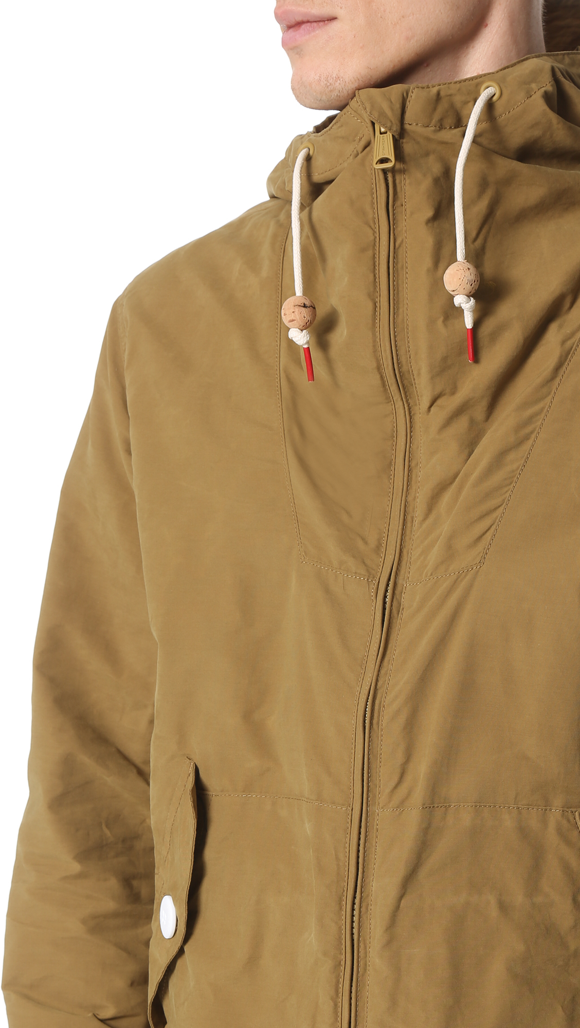 Penfield Gibson Classic Rain Jacket in Natural for Men | Lyst