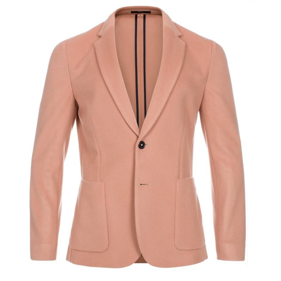 Paul smith Men's Light Peach Wool And Cashmere-blend Blazer in ...
