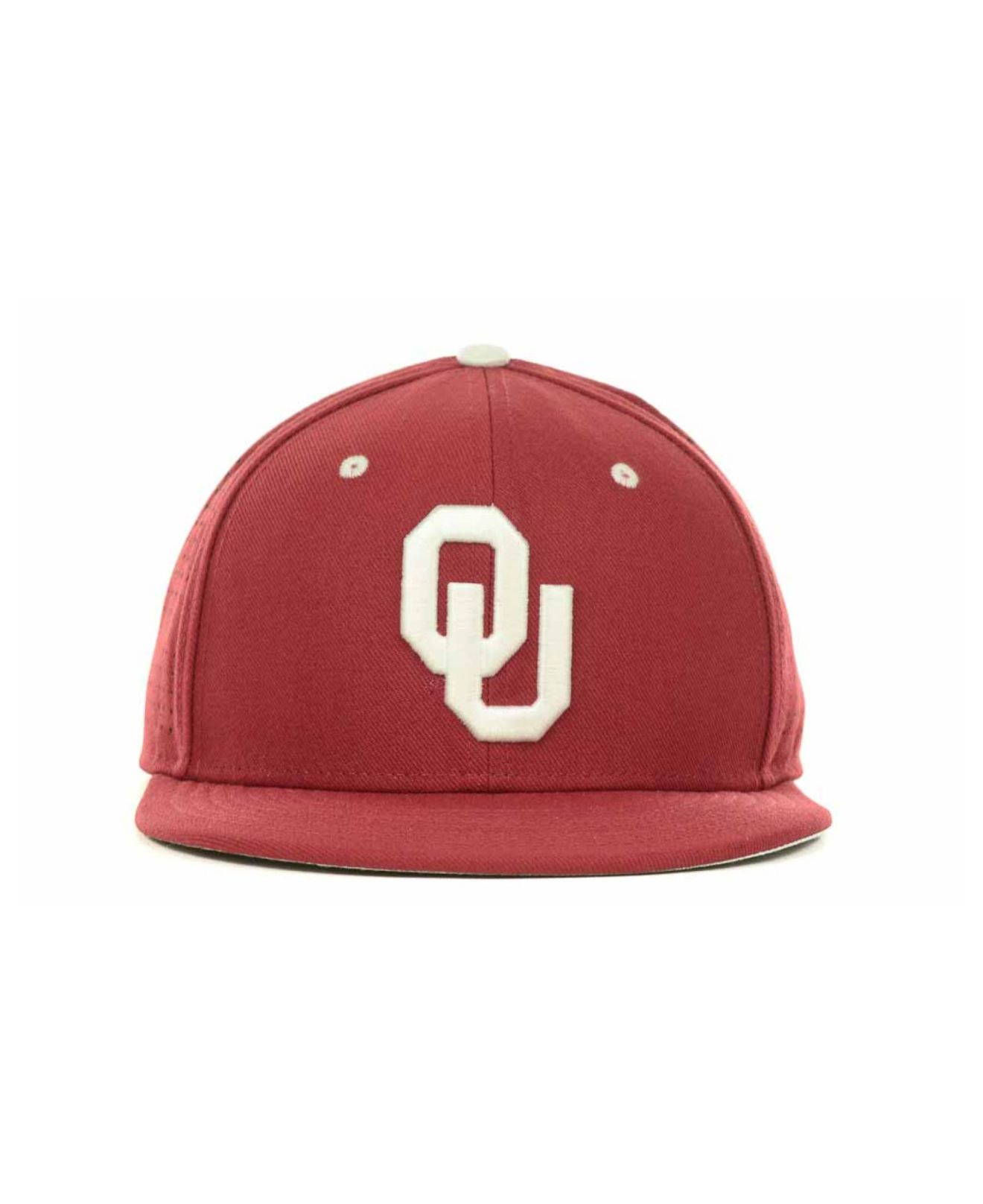 huge selection of accb1 d5361 Nike Oklahoma Sooners Ncaa Authentic Vapor Fitted Cap in Red for Men ...