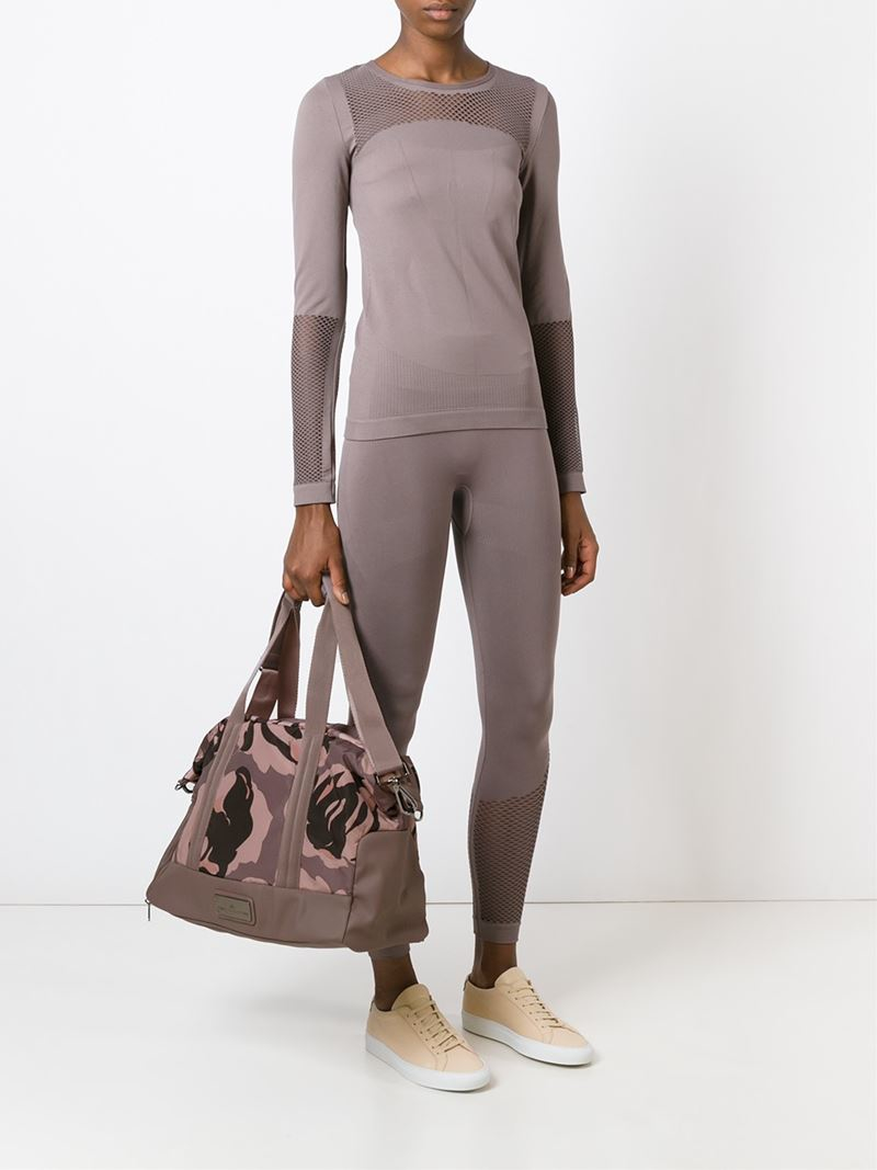adidas By Stella McCartney Floral Yoga Bag in Pink - Lyst ab73d7d780755