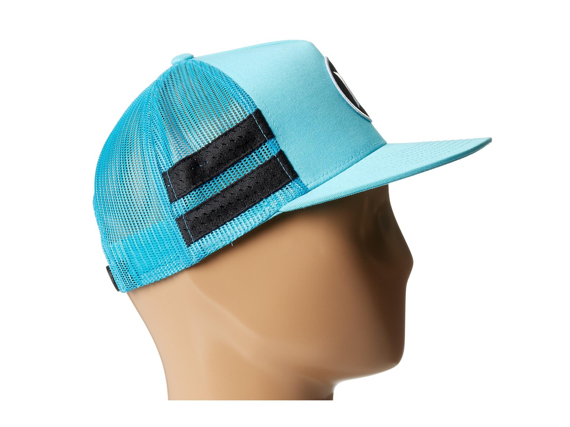 Lyst - Hurley Block Party Movement Trucker Hat in Blue for Men 4e9e020e4dd4