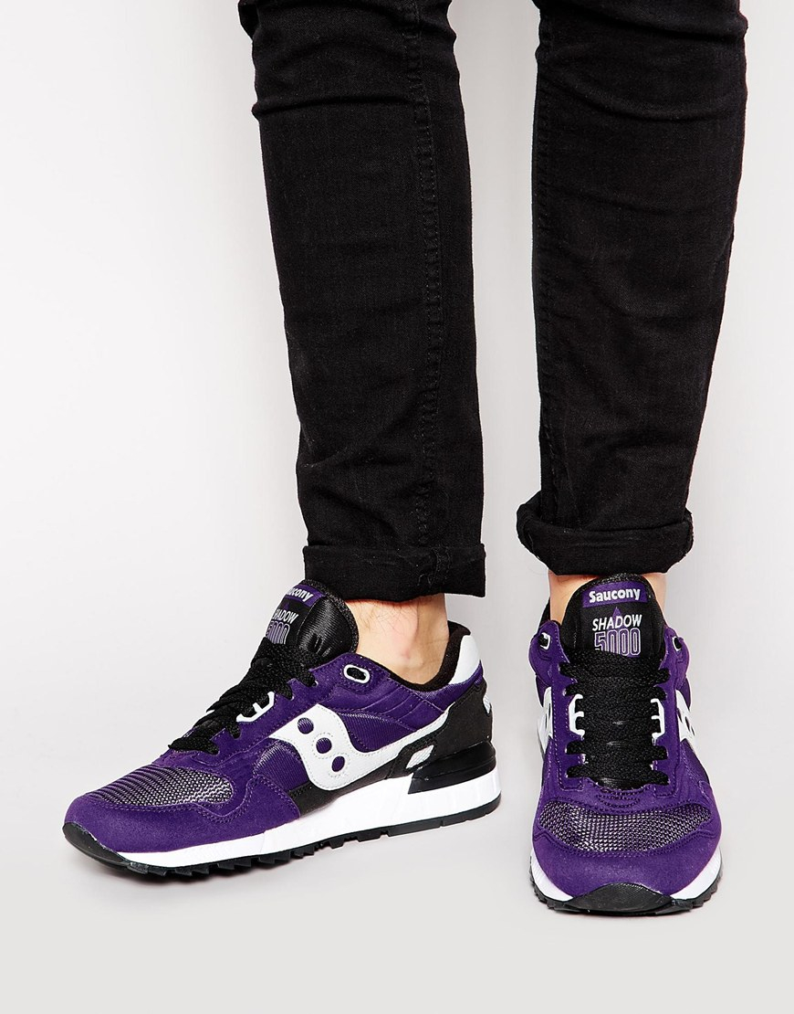 9bf5862b60bc Lyst - Saucony Shadow 5000 Sneakers in Purple for Men